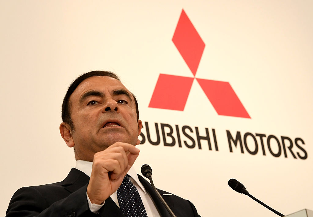 JAPAN-AUTOMOBILE-NISSAN-MITSUBISHI-RENAULT-GHOSN