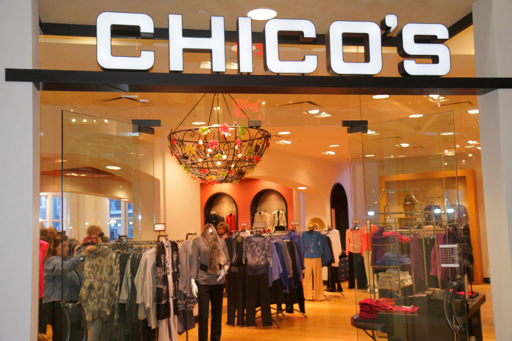 The entrance to Chico's in New Orleans.