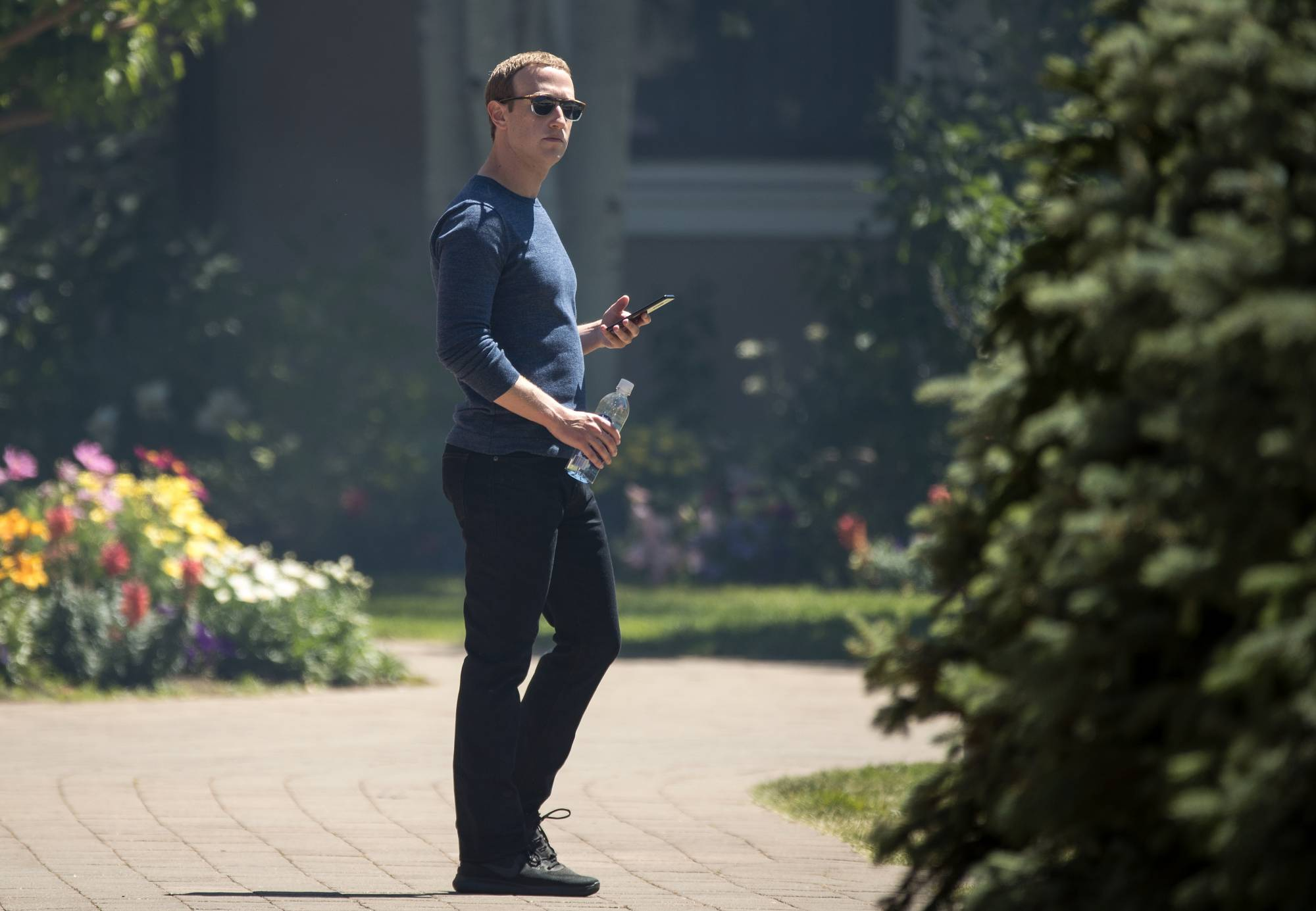 Facebook CEO Mark Zuckerberg didn't know about company's controversial lobbying, opposition research tactics.