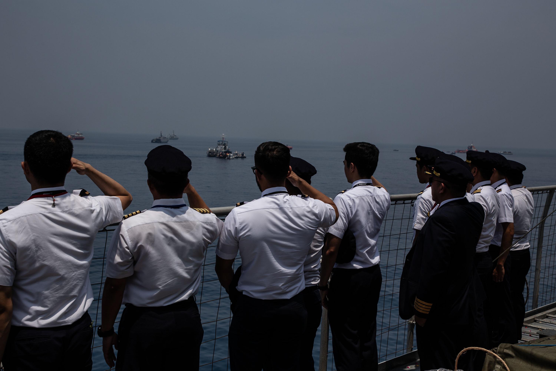 Families Of The Victim Of Lion Air Plane Crash Visit The Plane Crash Site