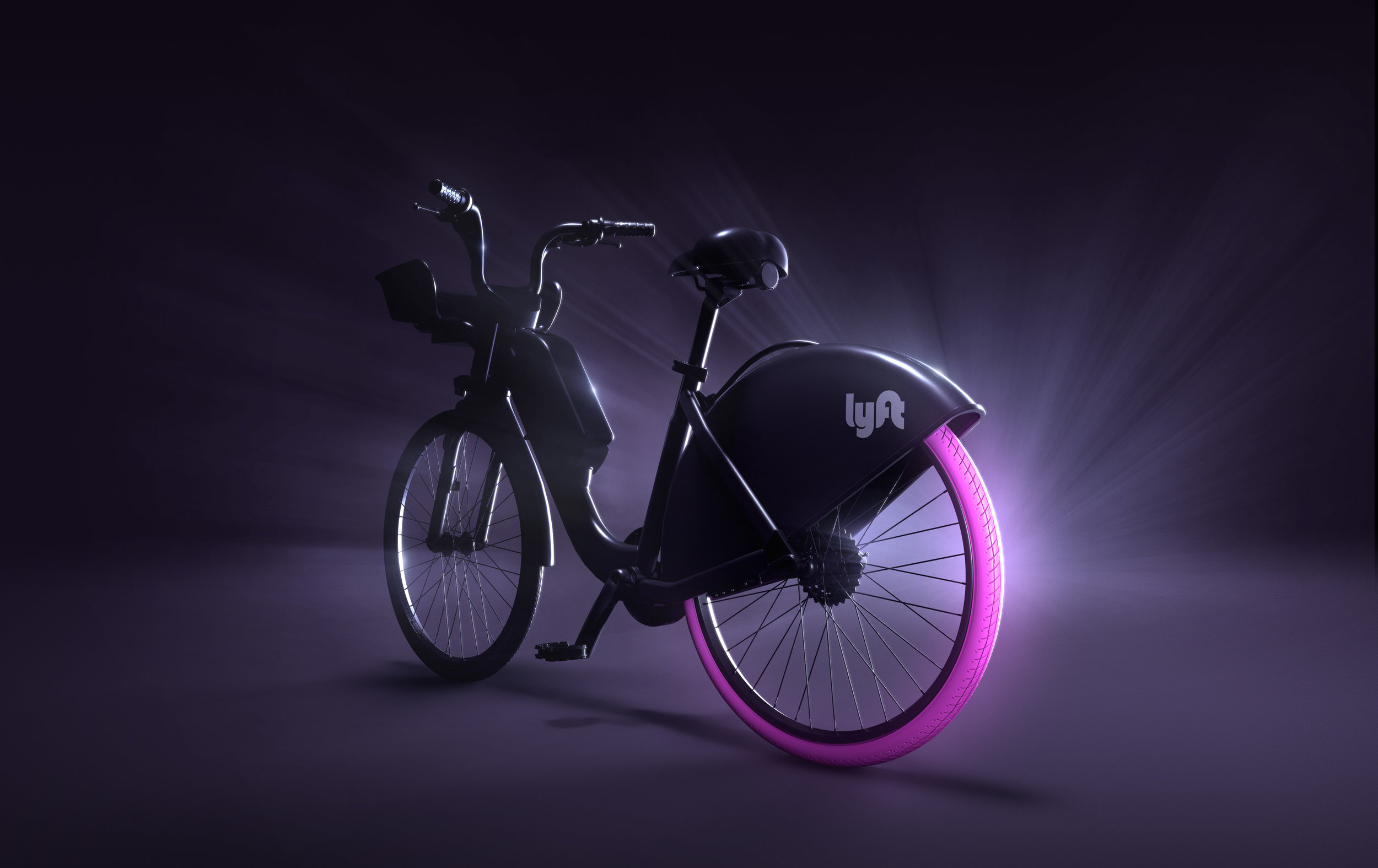 A preview of Lyft's branded bikes