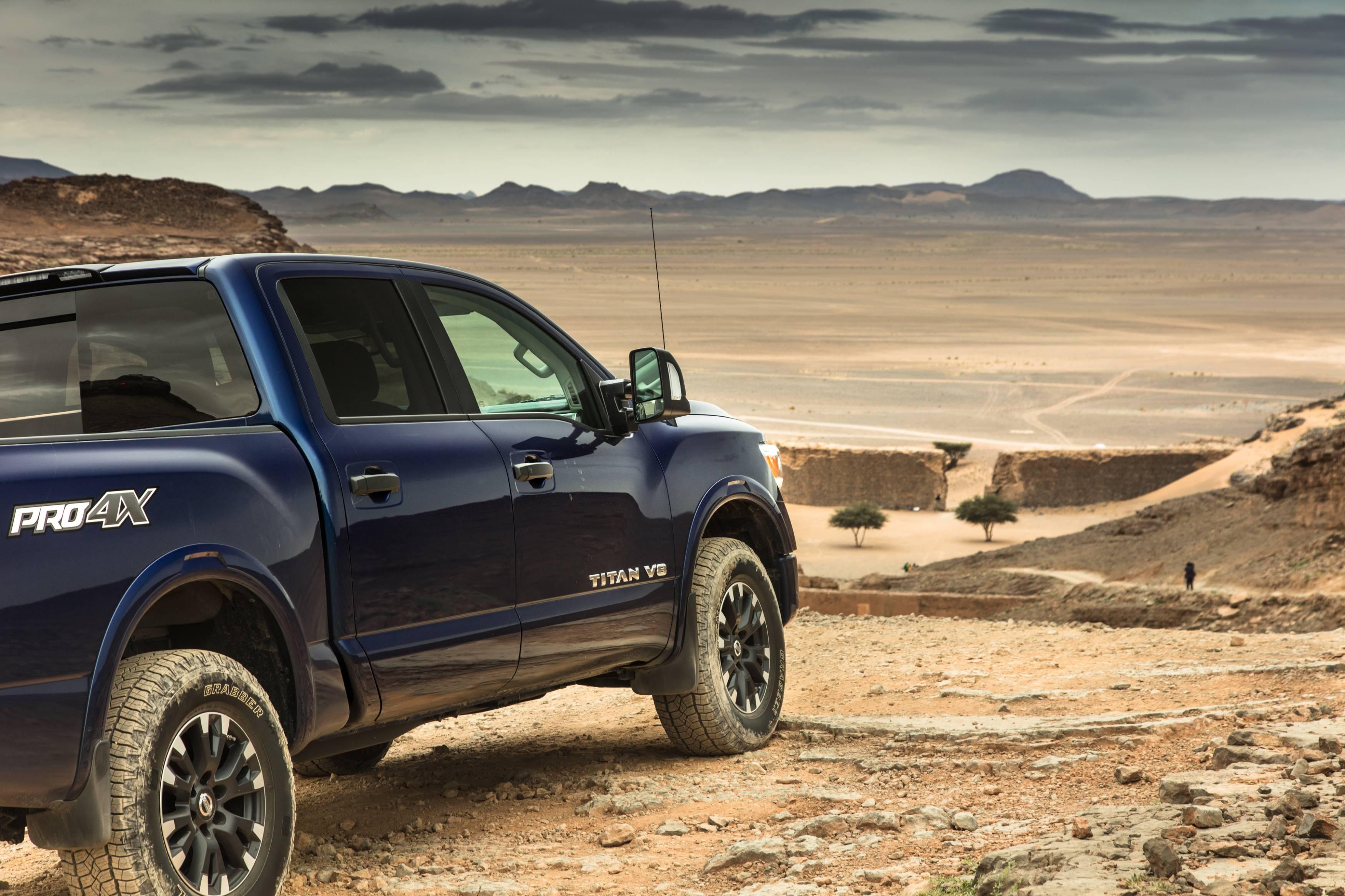 2018 Nissan Titan full-size pickup truck