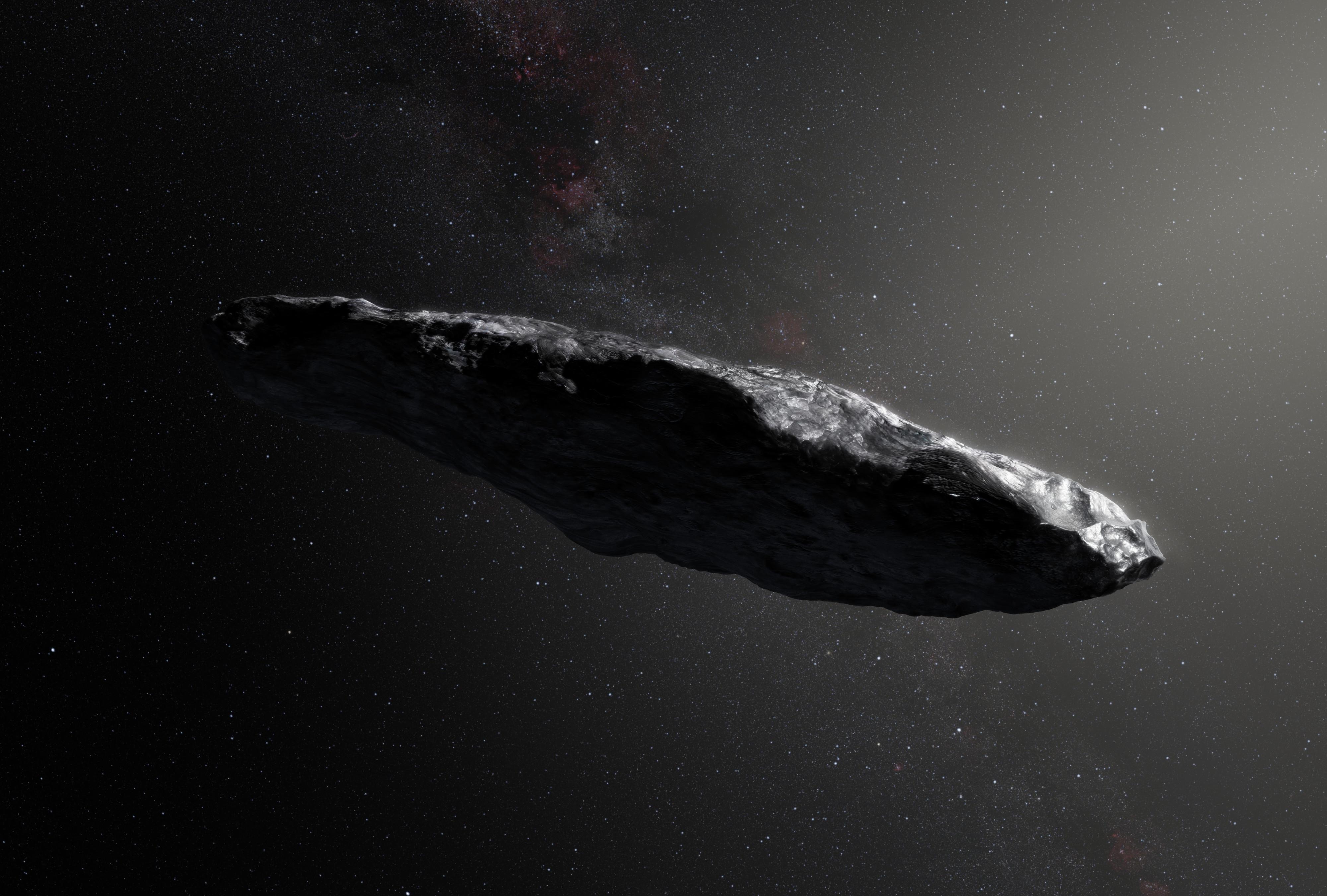 Oumuamua interstellar