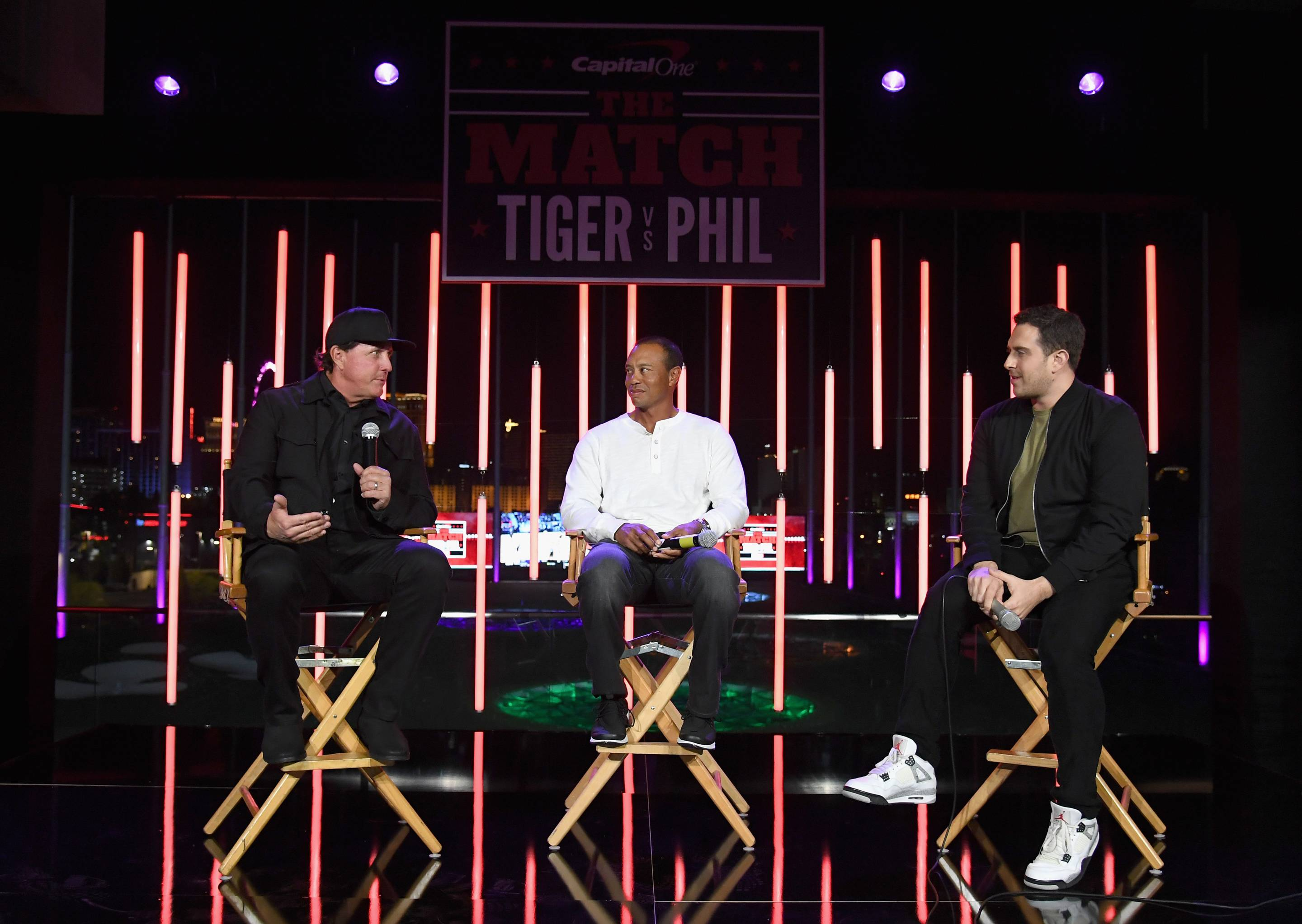 The Match: Tiger vs Phil - VIP After Party