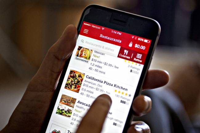 Seamless And GrubHub Inc. Applications Ahead Of Earnings Figures