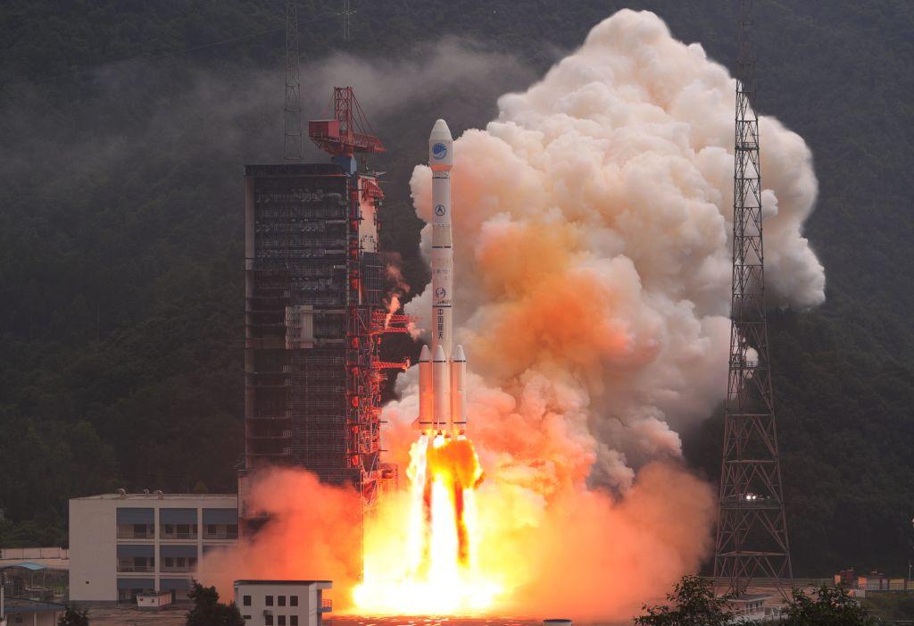China Launches Twin BeiDou-3 Navigation Satellites