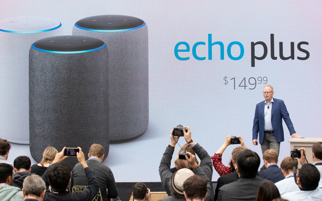 Amazon Announces New Products At Event In Its Seattle Headquarters