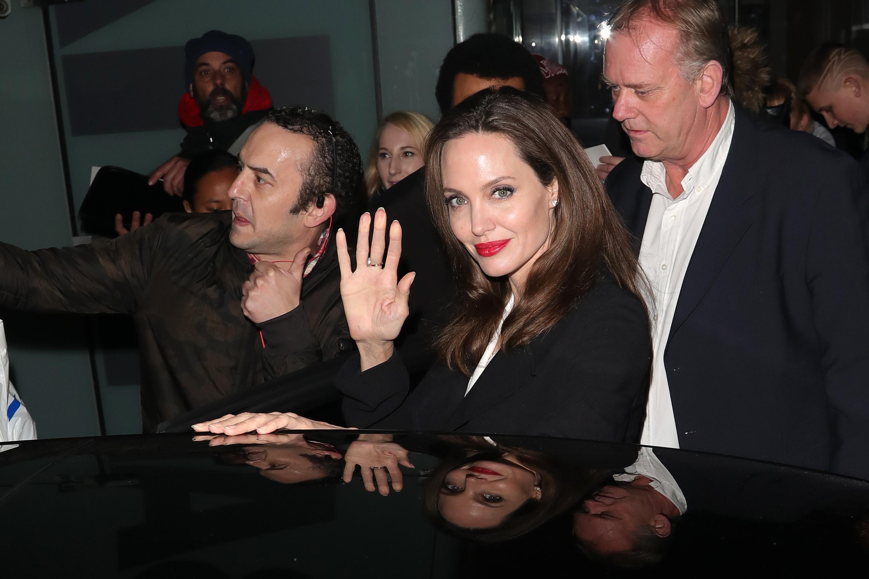 London Celebrity Sightings -  November 23, 2018