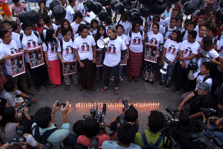 MYANMAR-MEDIA-JUSTICE-ARREST