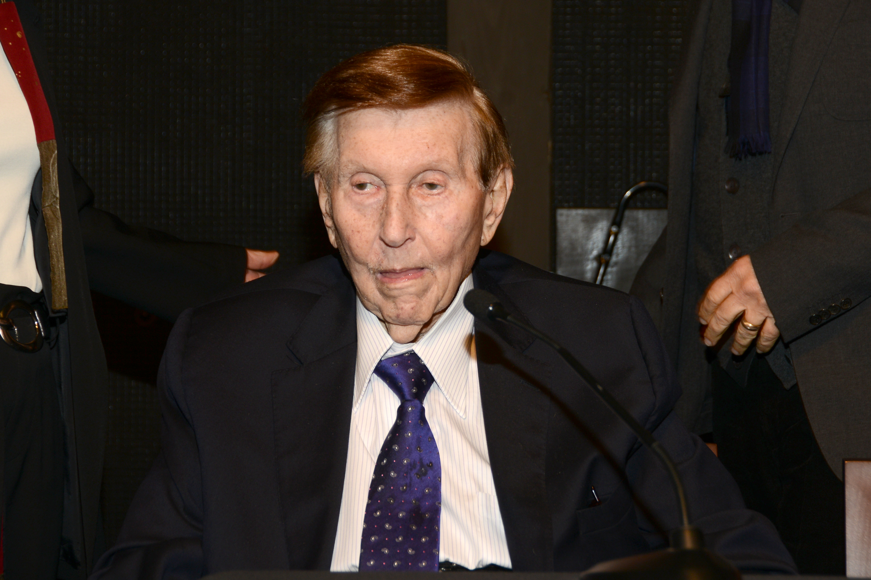 Dedication Of The Newly Completed Sumner M. Redstone Production Building On The USC School Of Cinematic Arts Campus