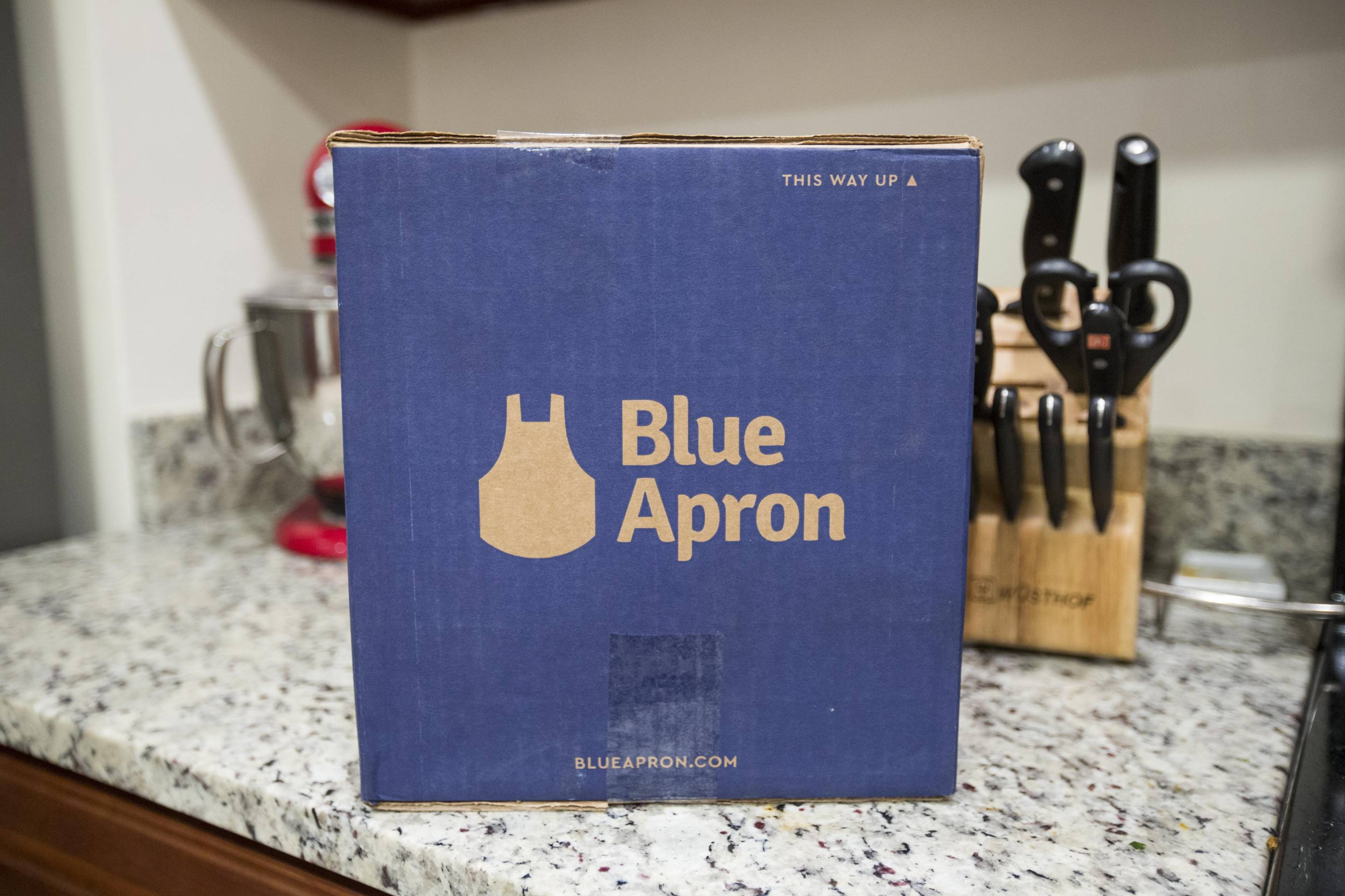 Meal Delivery Service Blue Apron