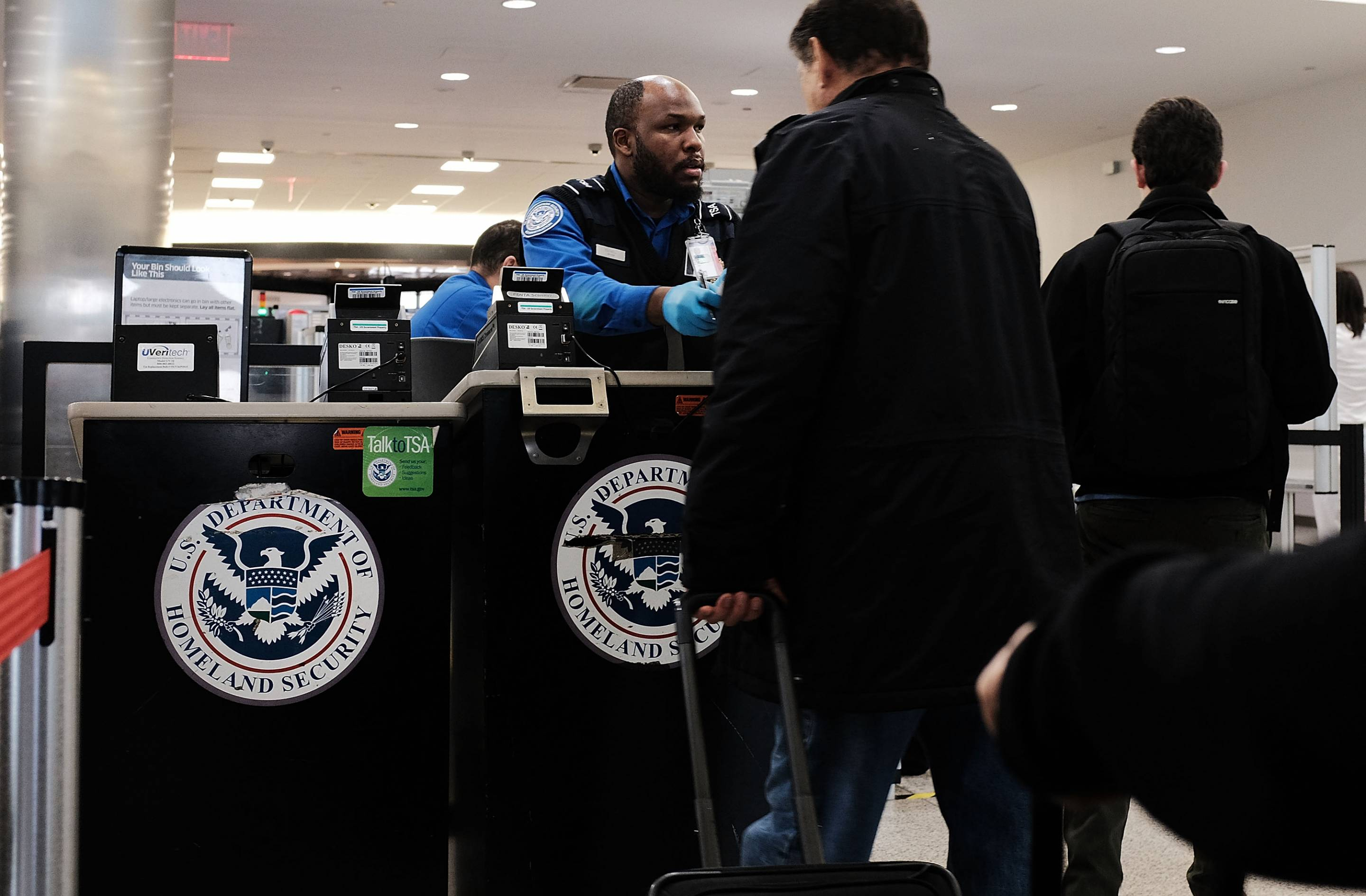 U.S. Customs, TSA, Among Federal Services to Continue in Government Shutdown
