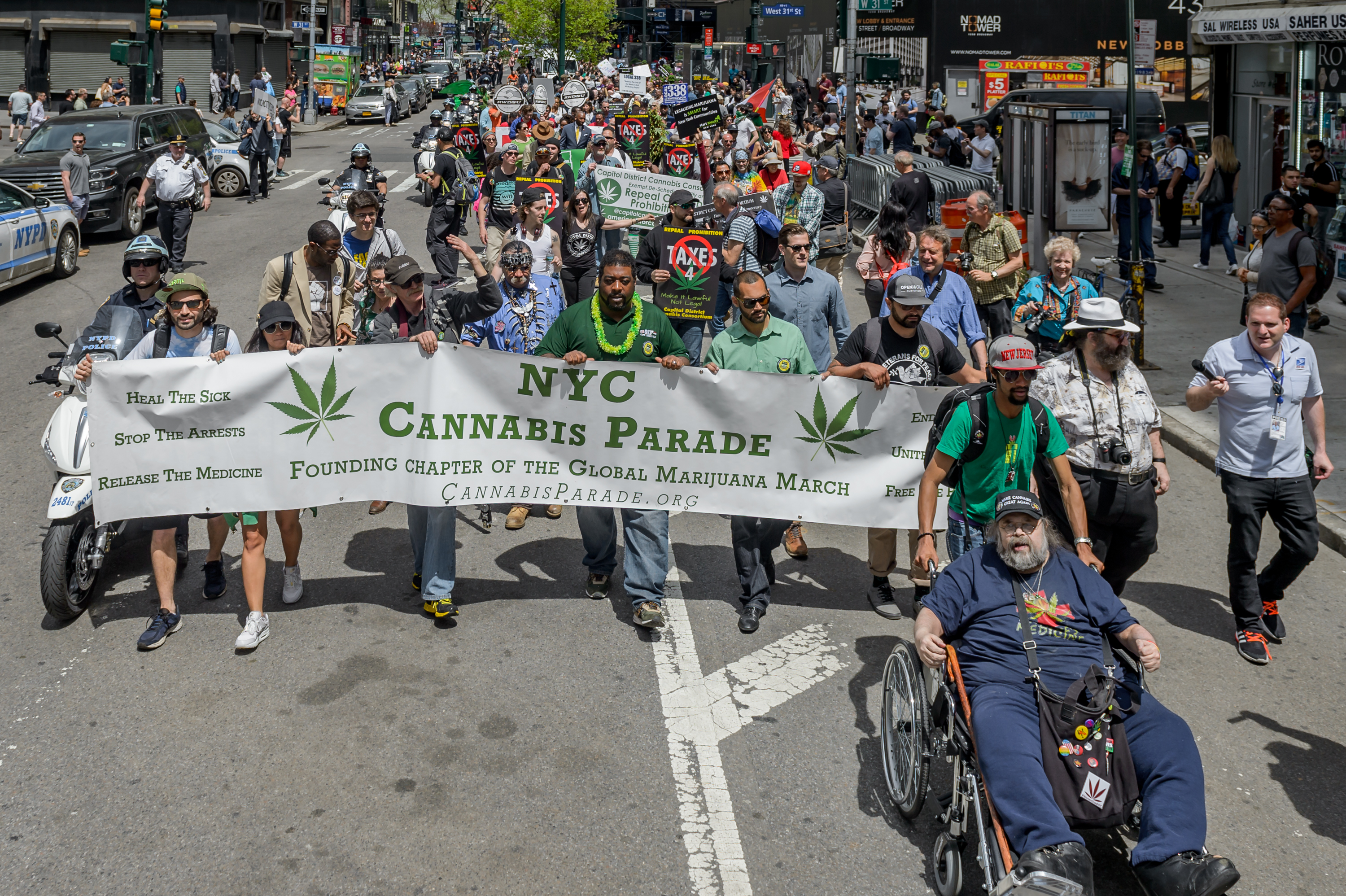 The NYC Cannabis Parade and Rally, New Yorks longest