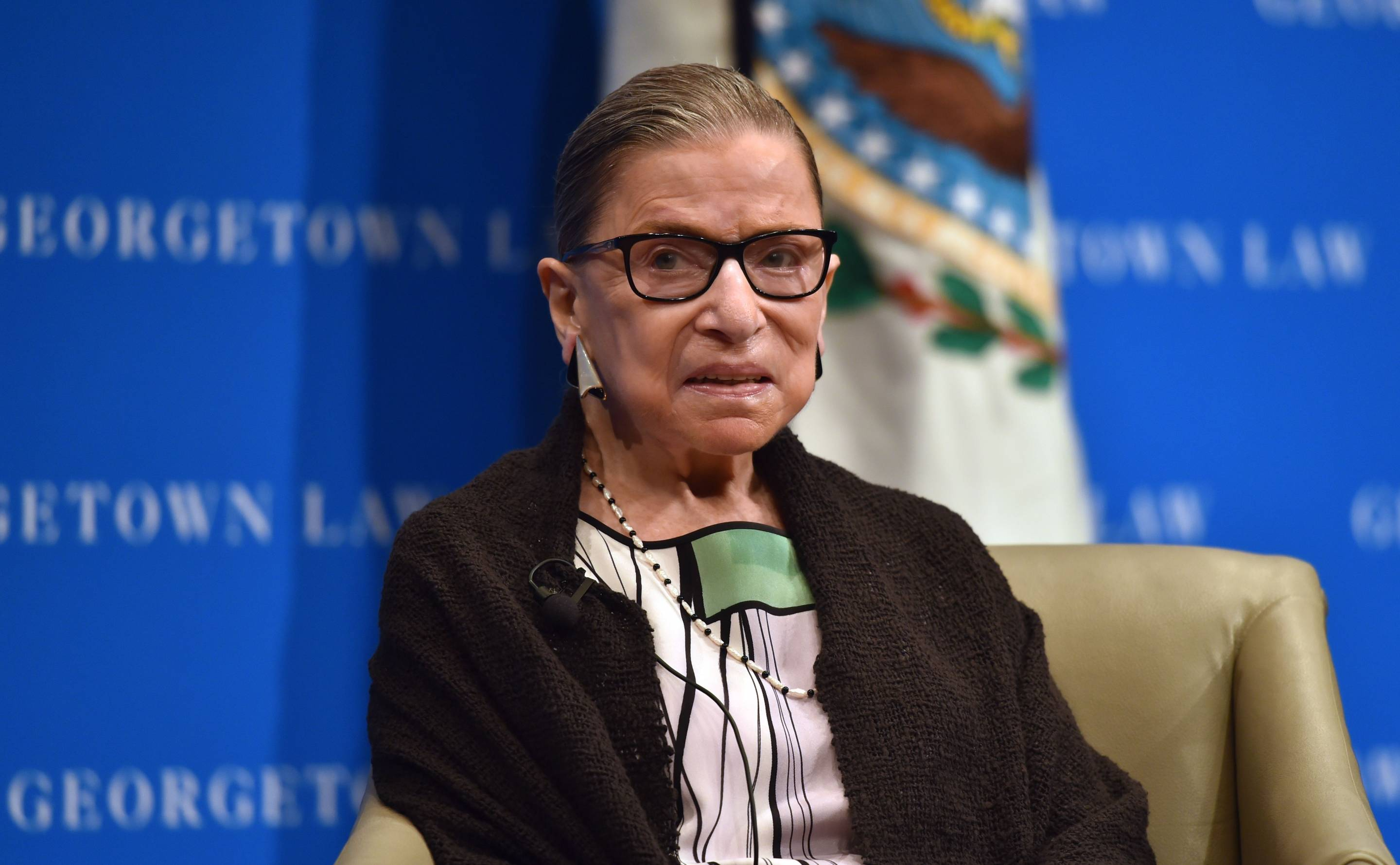 Supreme Court Justice Ruth Bader Ginsburg Recovering at Home