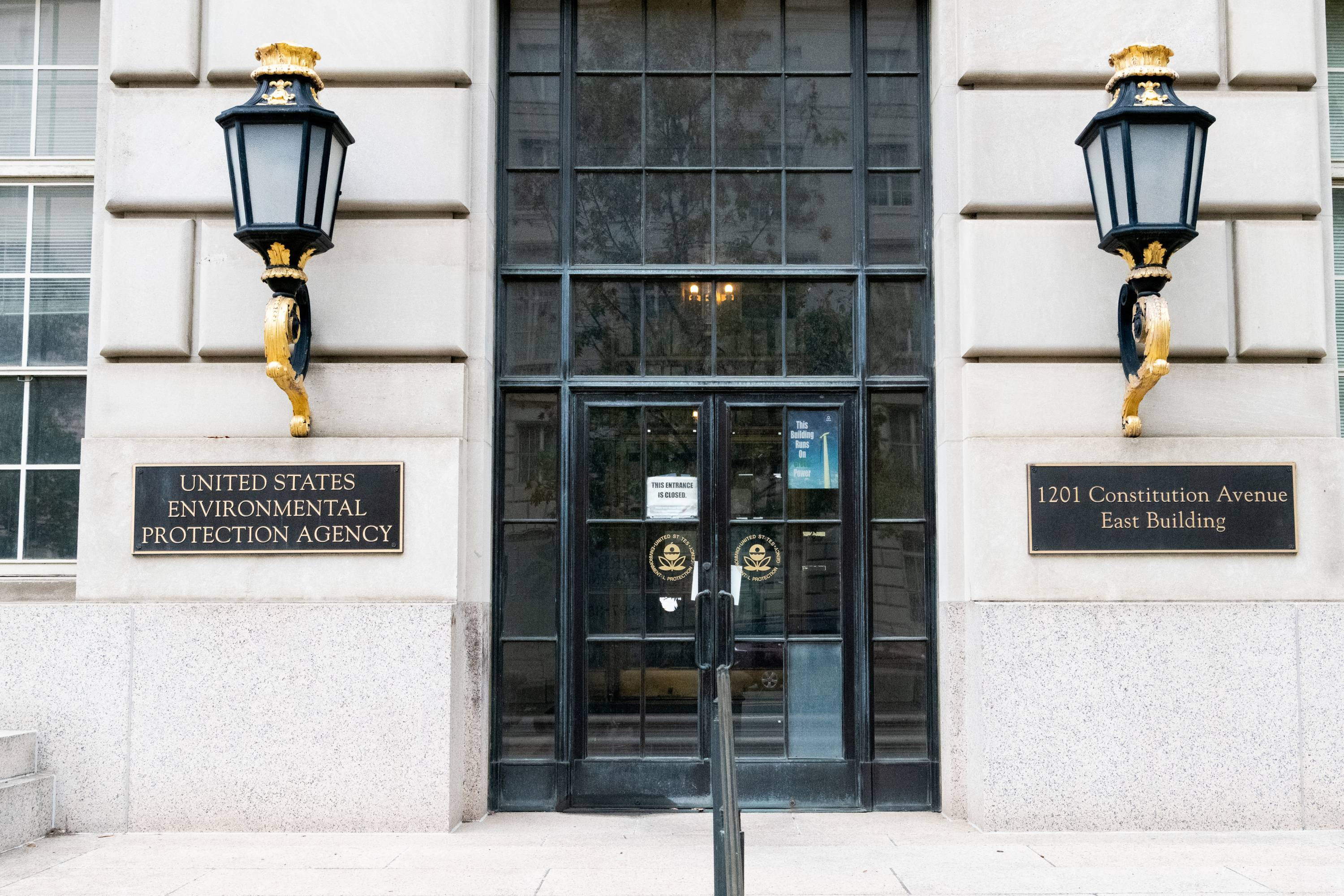 The Environmental Protection Agency building in Washington,