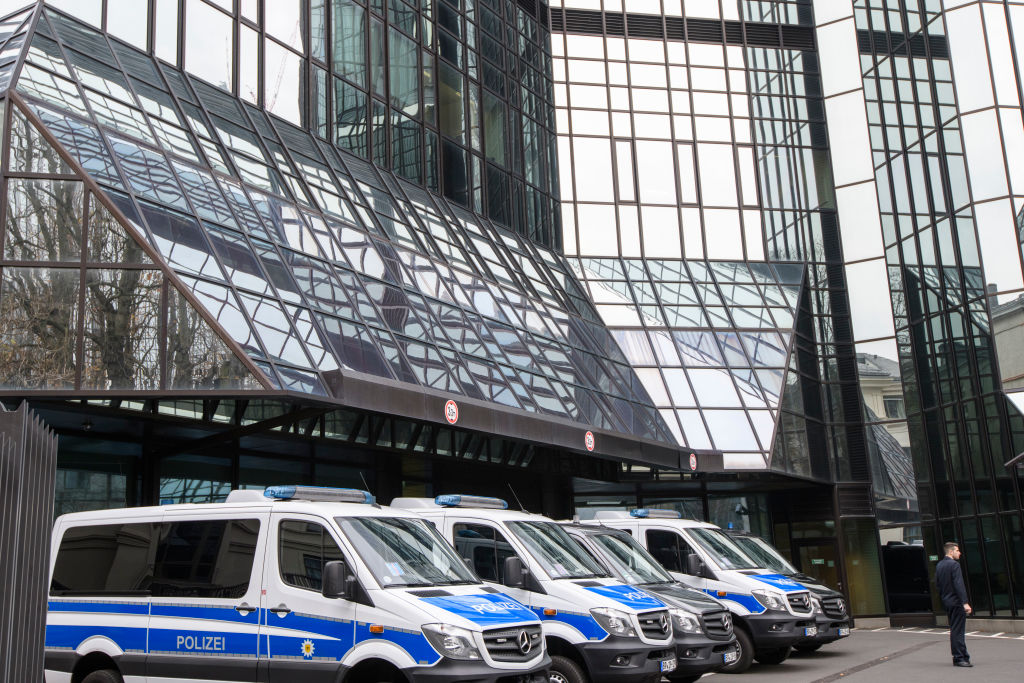 Police Raid Deutsche Bank Headquarters
