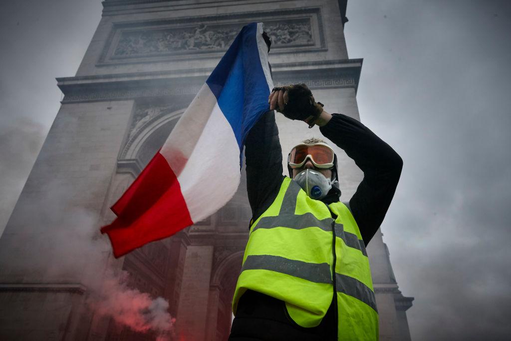 Gilets Jaunes Protest In Paris