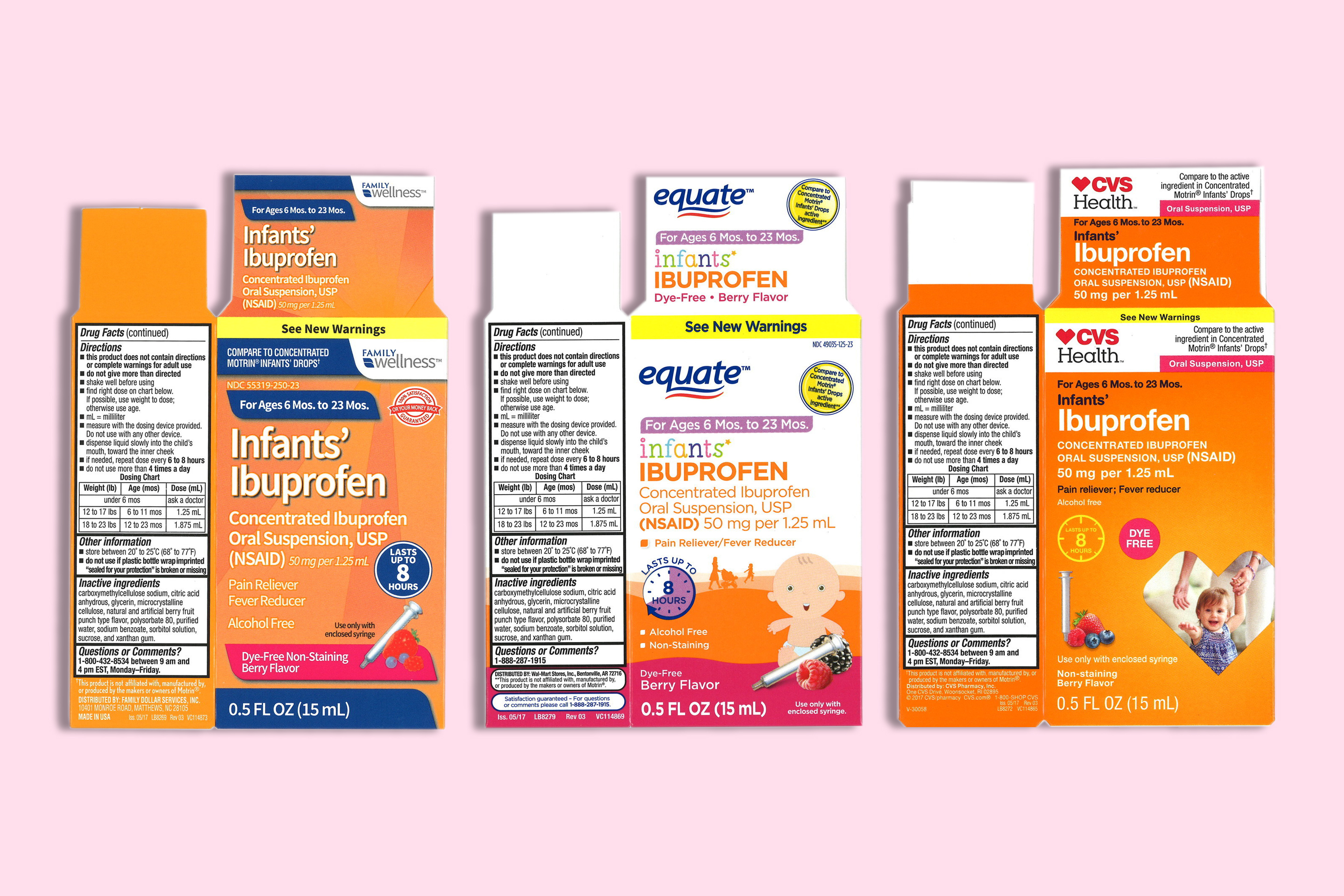 infant ibuprofen recall