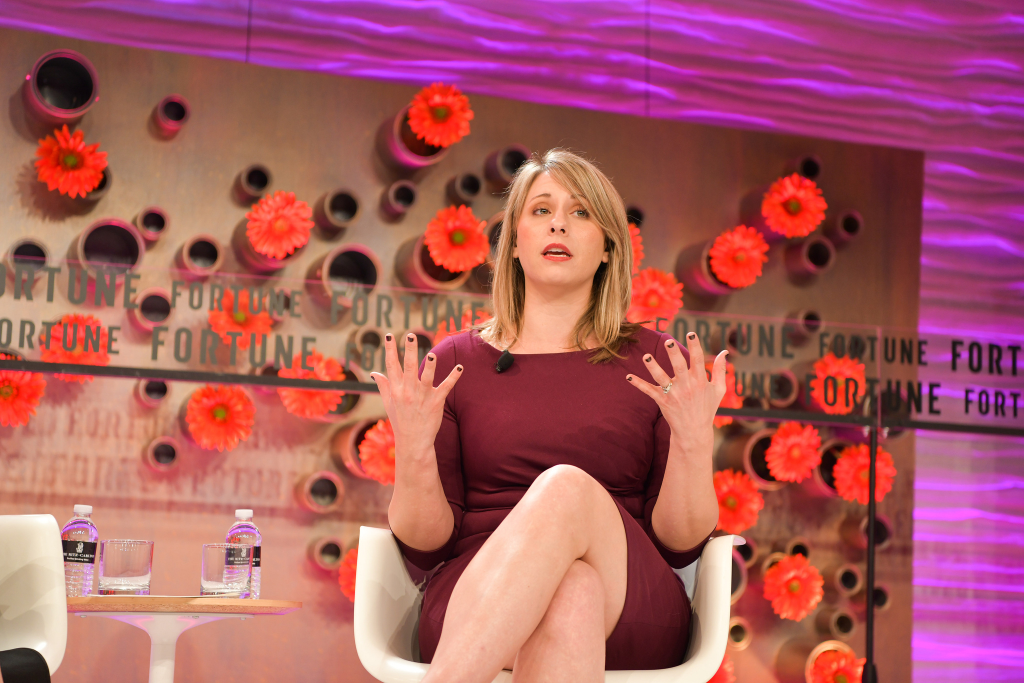 Congresswoman-elect Katie Hill at the 2019 Fortune Most Powerful Women Next Gen Summit in Laguna Niguel, Calif.