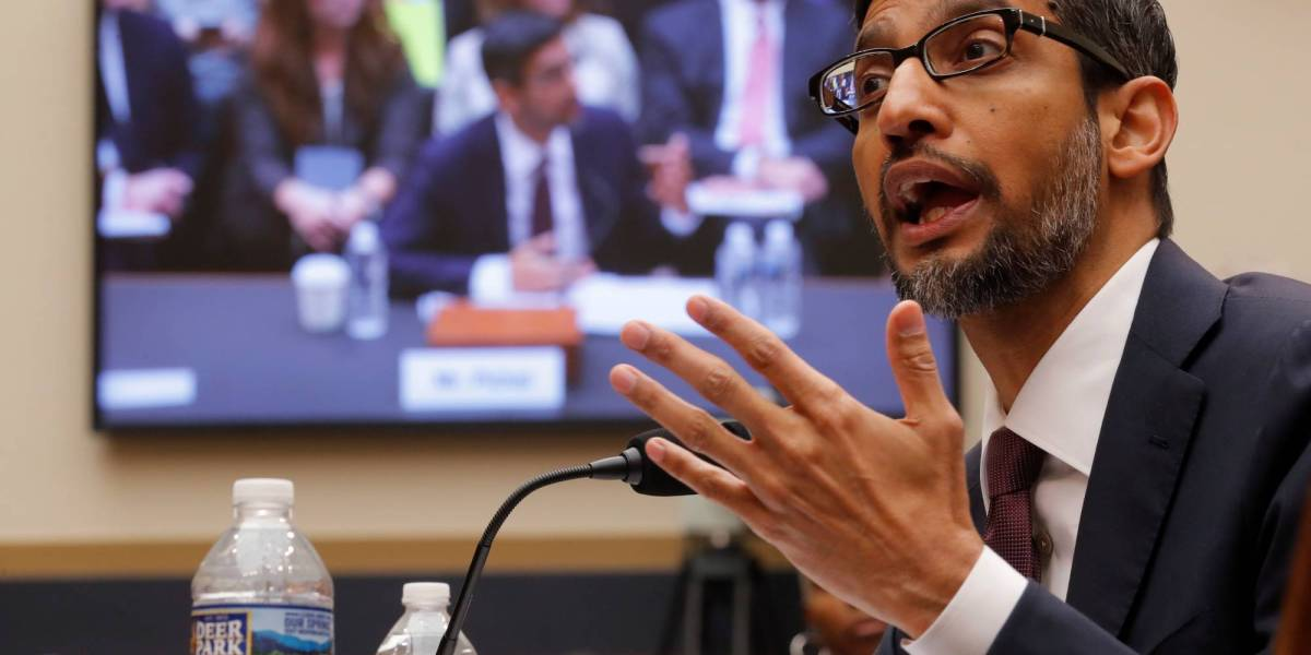 Lawmakers Grill Google CEO Sundar Pichai. But He Emerges Merely Singed