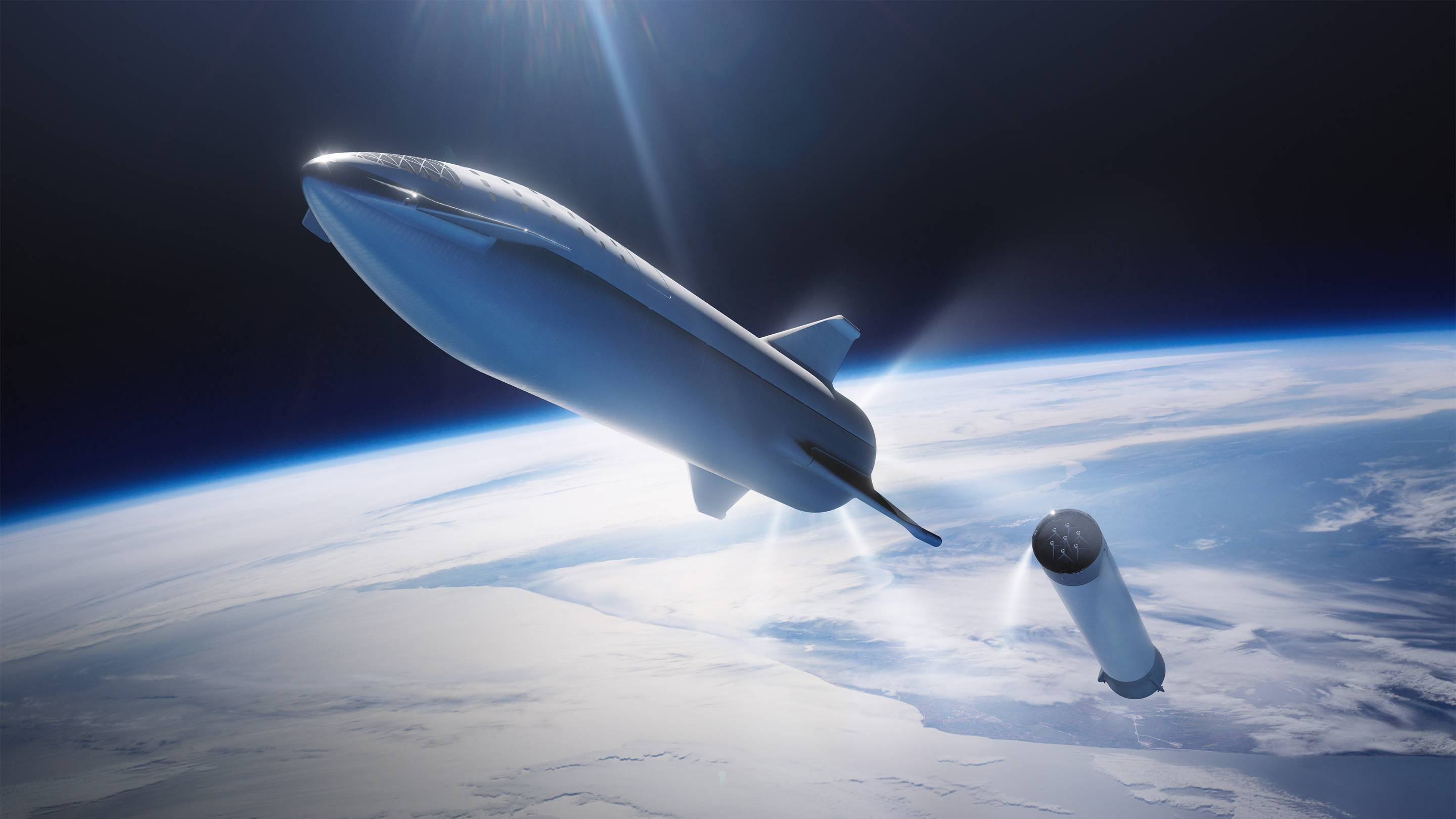 SpaceX Starship rocket prototype