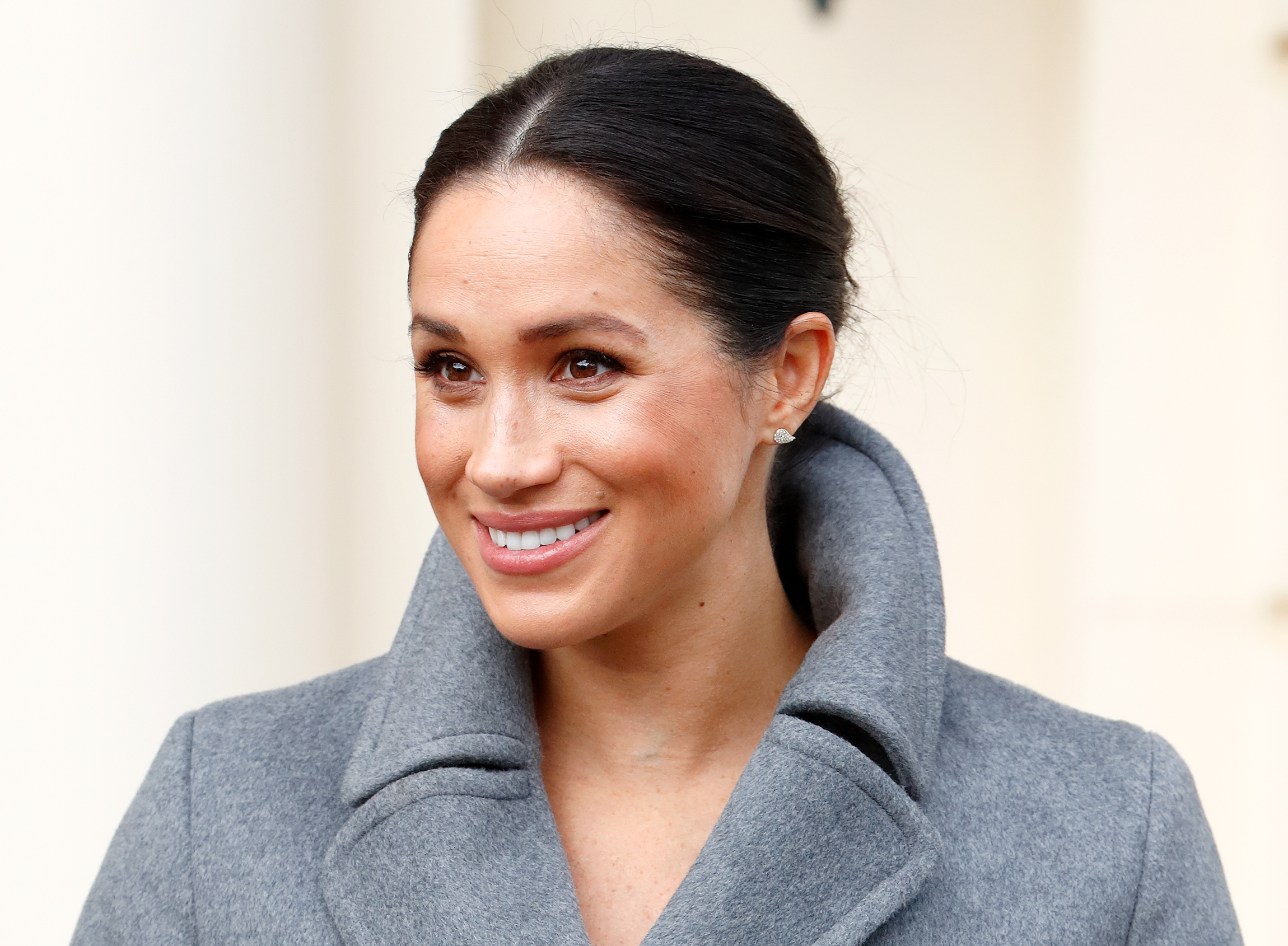 The Duchess Of Sussex Visits Brinsworth House