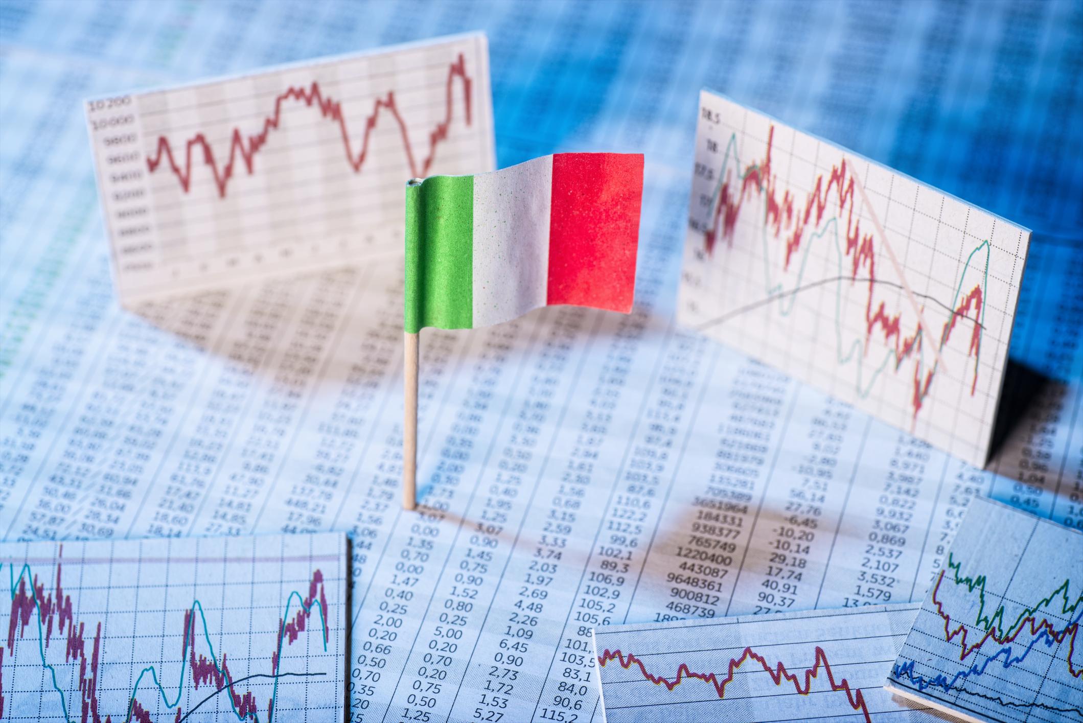 Entwicklung der Wirtschaft in Italien