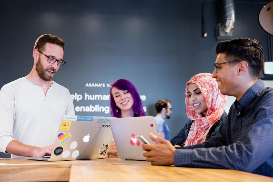 asana-best workplaces in tech 2019