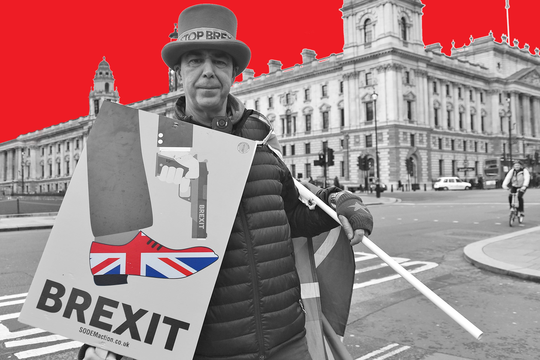 Anti-Brexit Protest In London in 2018