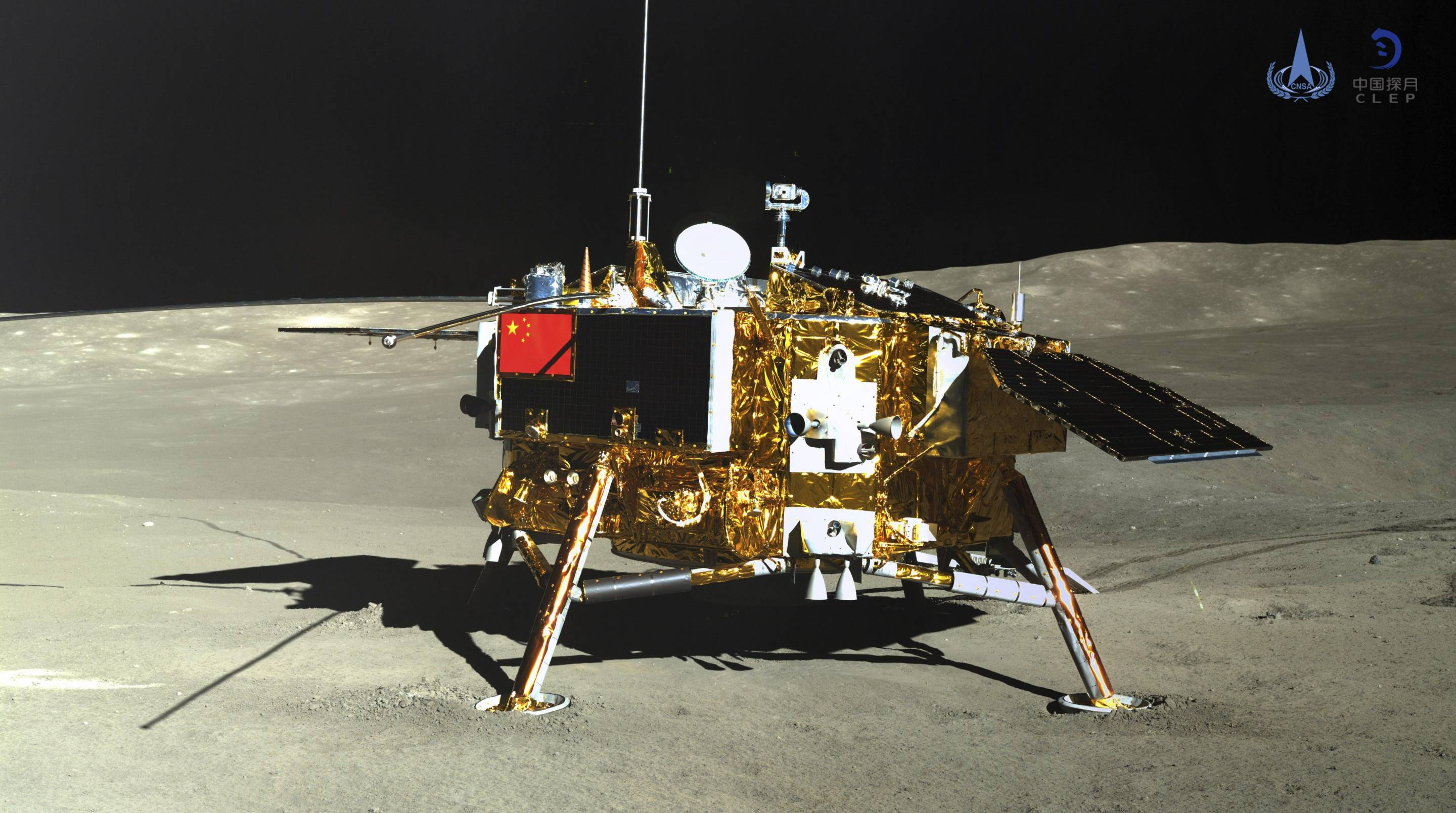 China and NASA Share Moon Landing Data