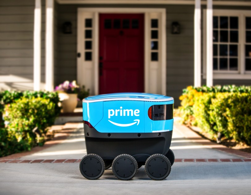 Six Amazon Scouts are now delivering packages in Snohomish County in a trial run that complements existing delivery options