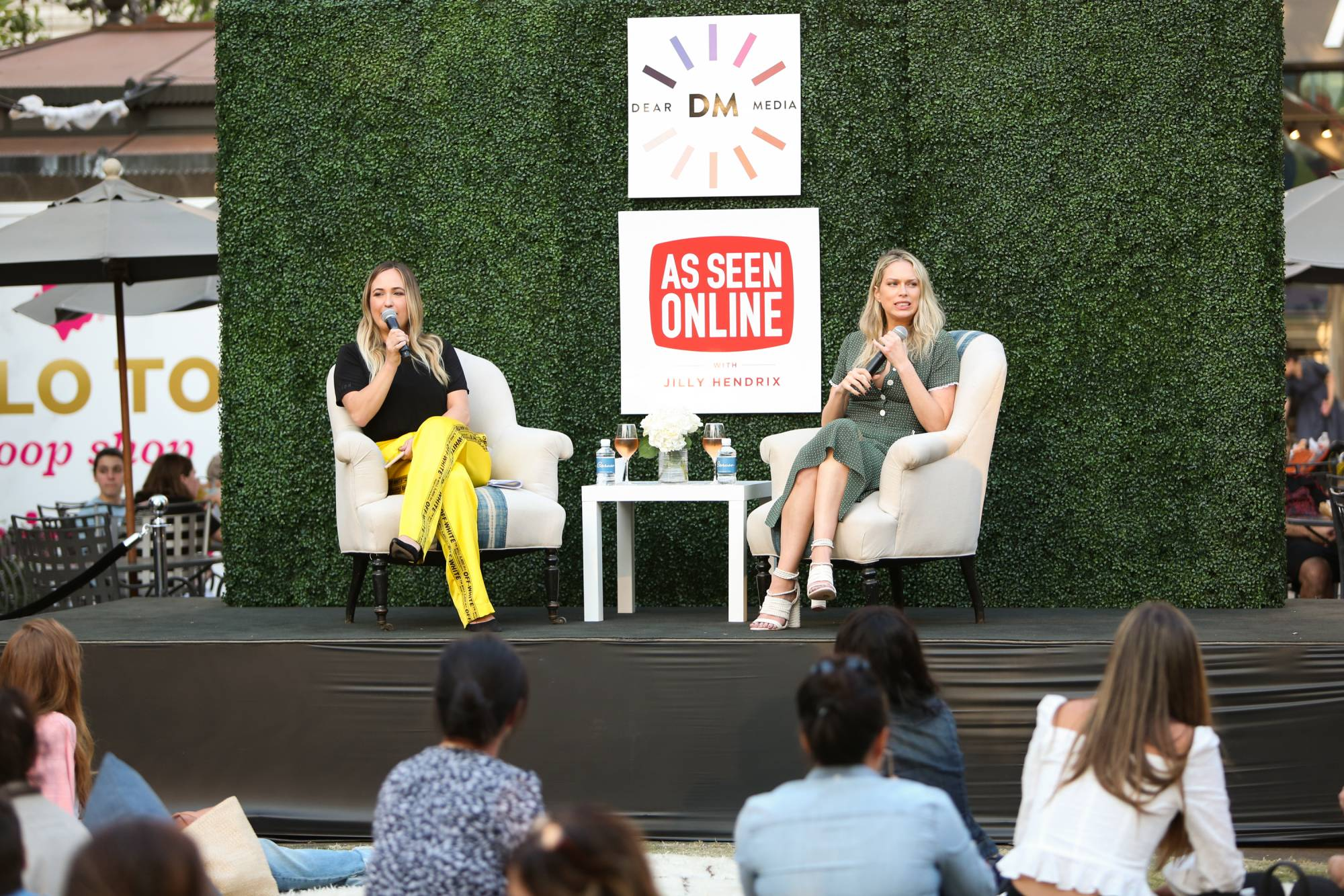 Dear Media Podcast At The Grove Presents As Seen Online With Jilly Hendrix