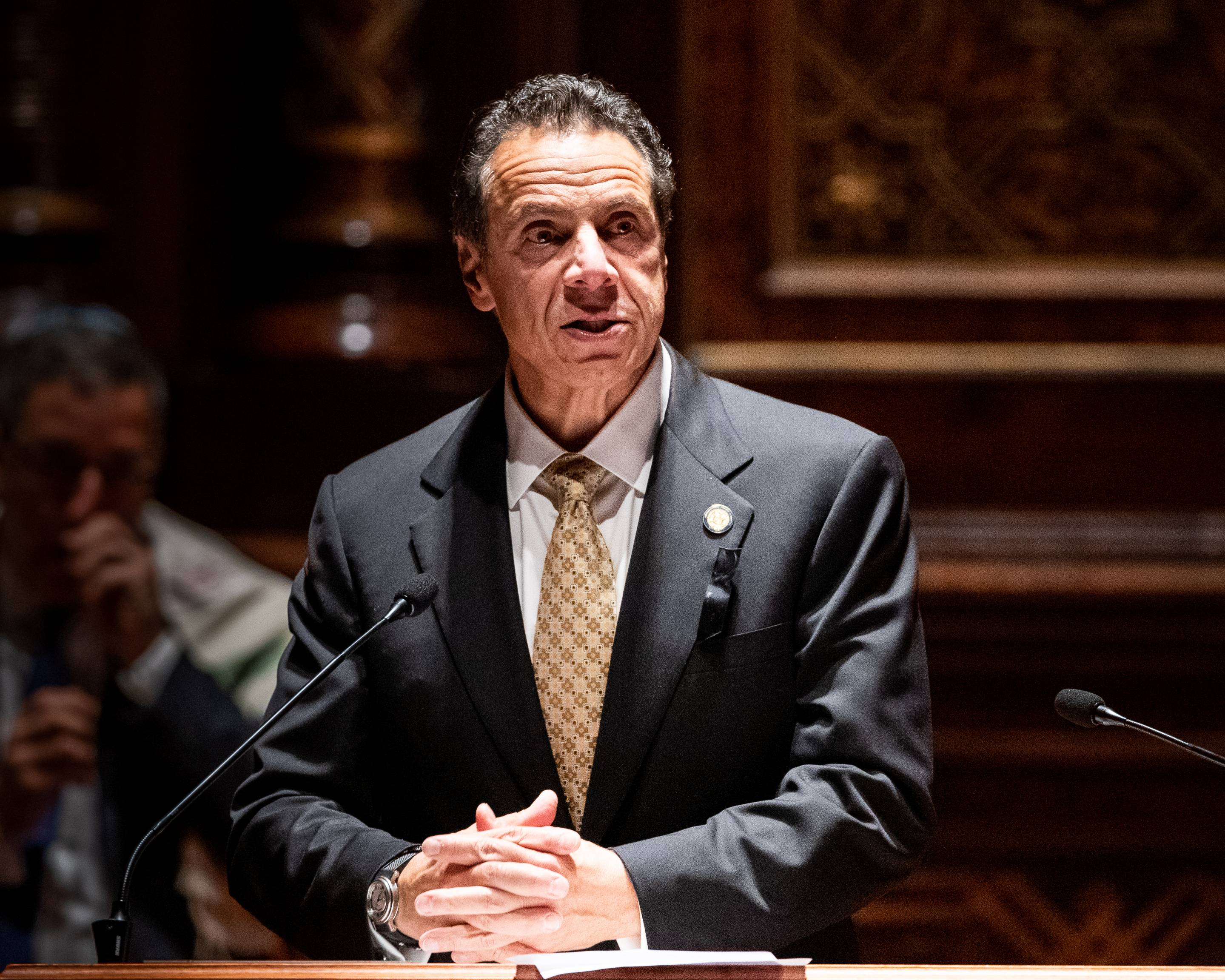 Governor Andrew Cuomo (D-NY) speaking at the interfaith