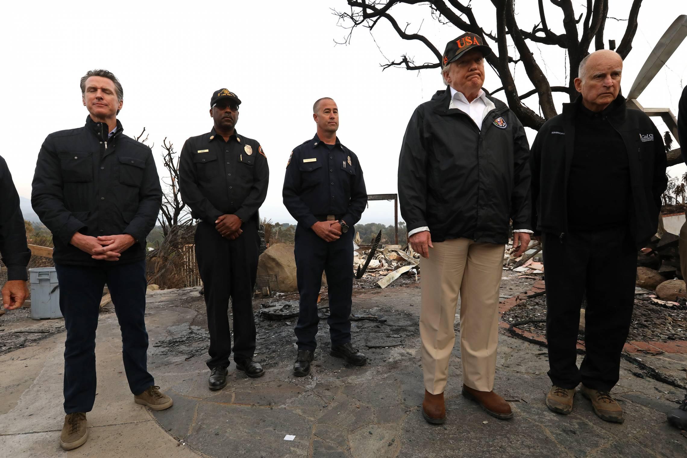 Trump California Wildfires