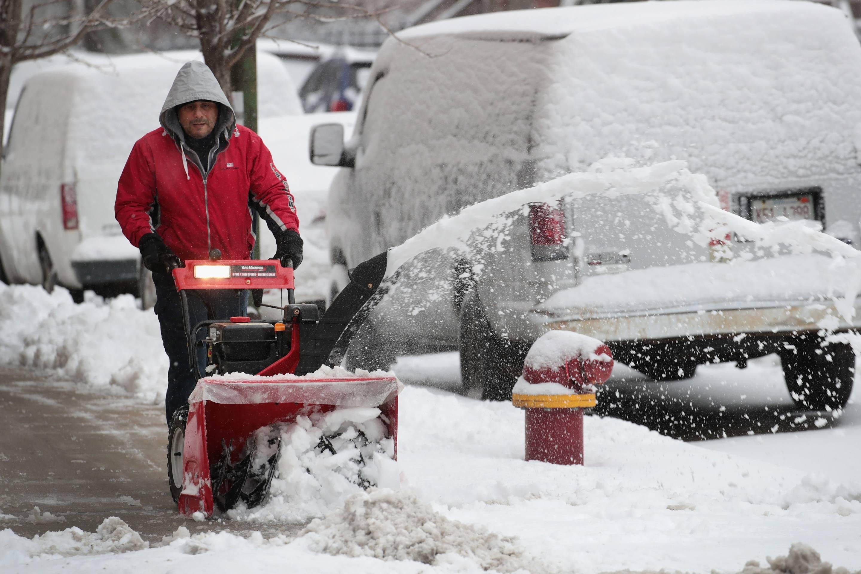 Snowy Chicago