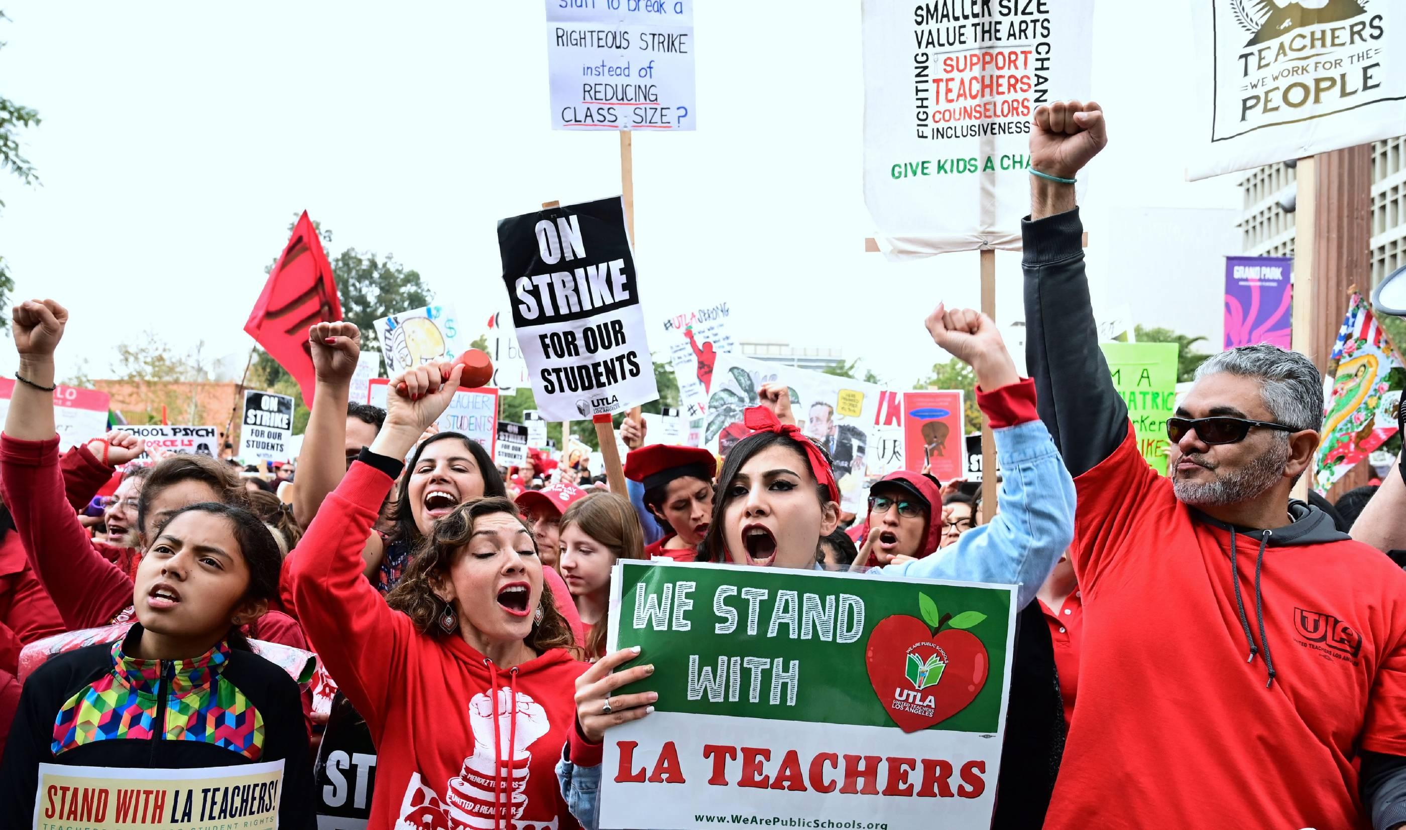US-EDUCATION-TEACHERS-STRIKE