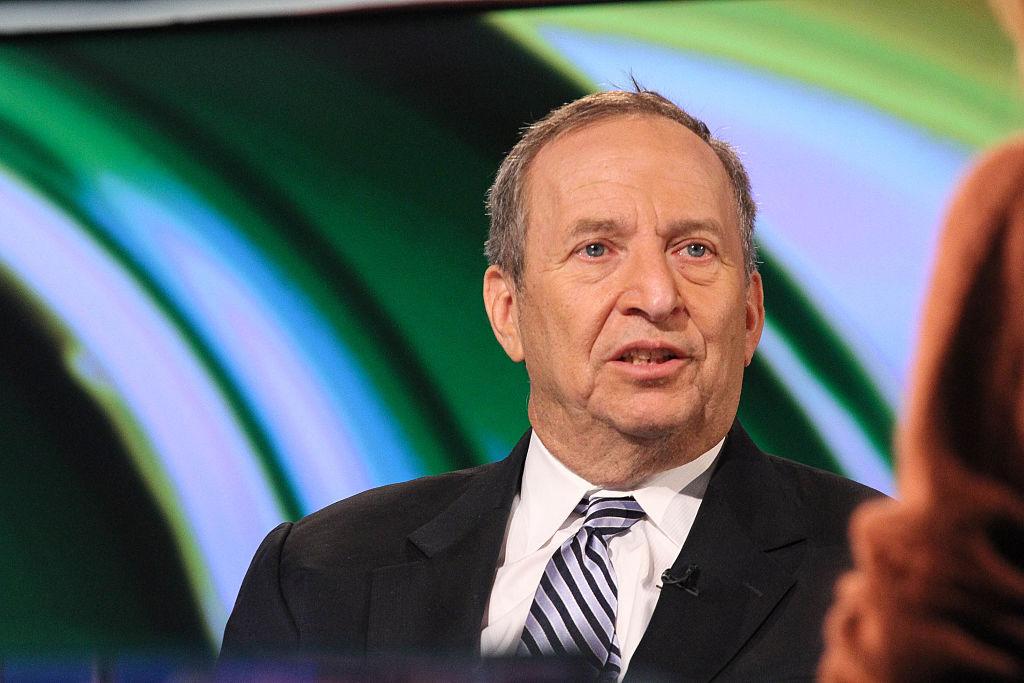Former Treasury Secretary Larry Summers Visits FOX Business Network