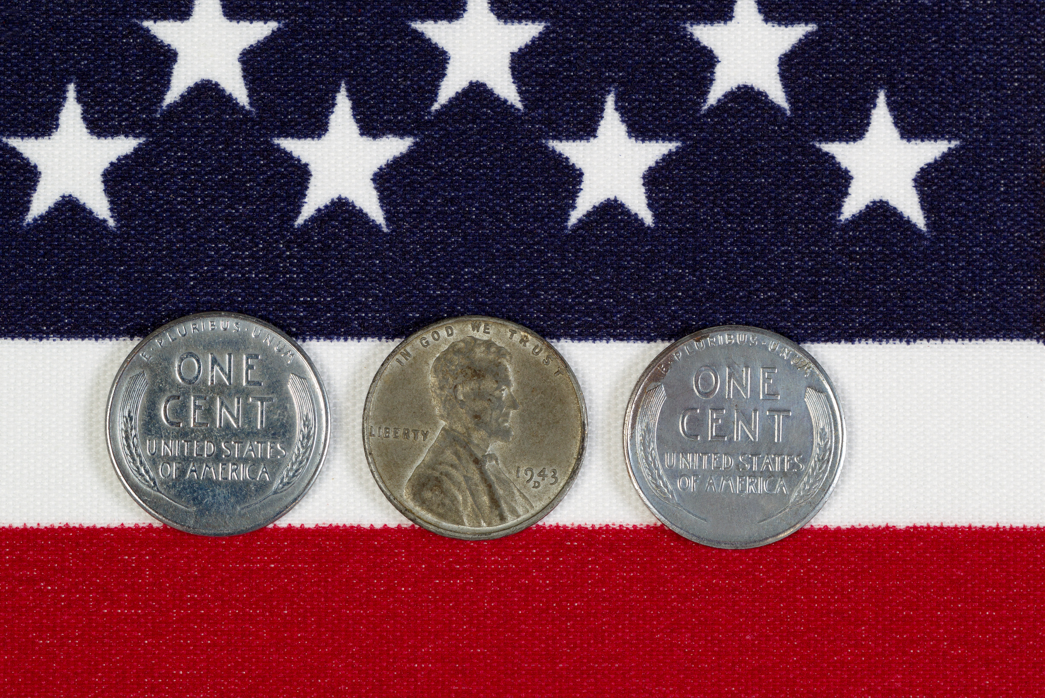 United States World War II Steel Cents