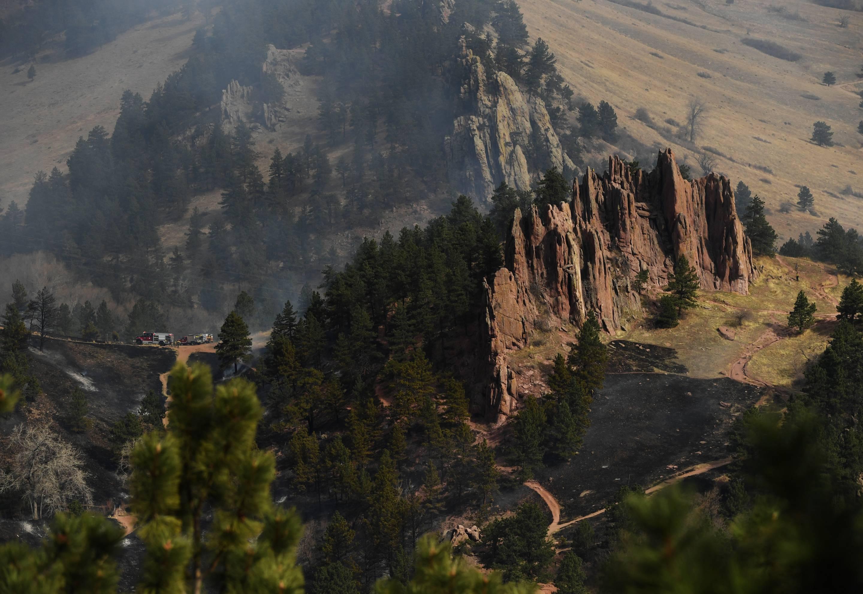 Sunshine Canyon Boulder wildfire