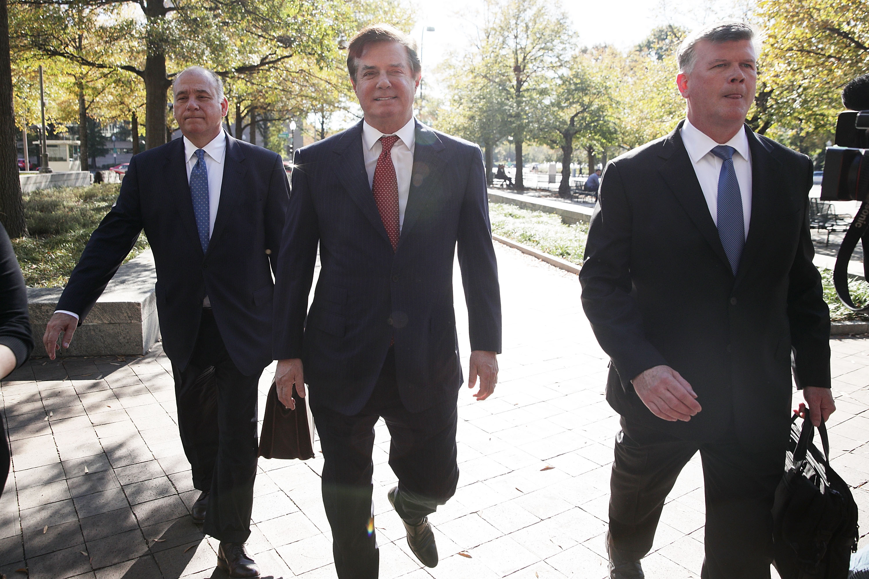 Paul Manafort And Rick Gates Attend Bail Hearing At U.S. District Court