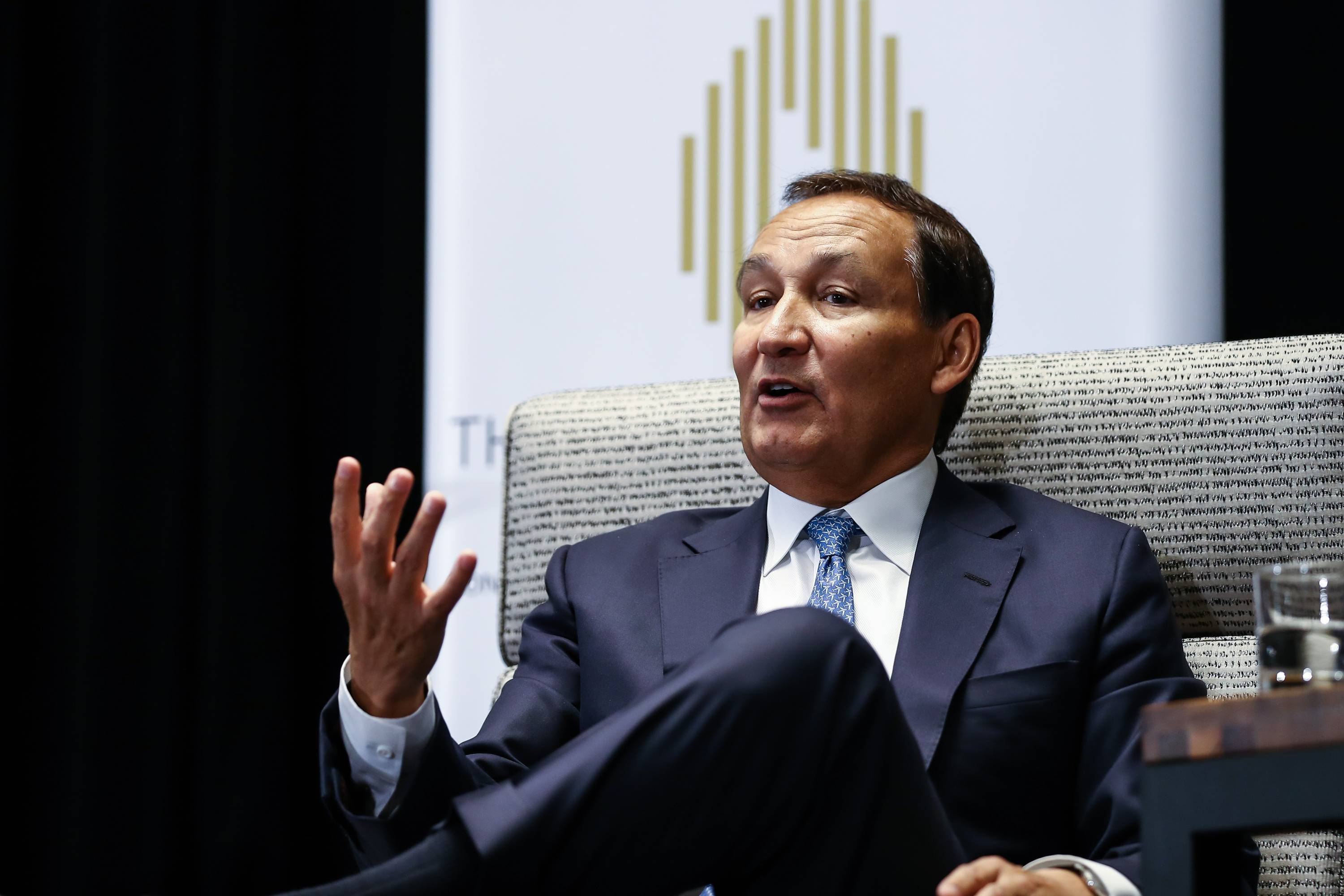 United Airlines Chief Executive Officer Oscar Munoz