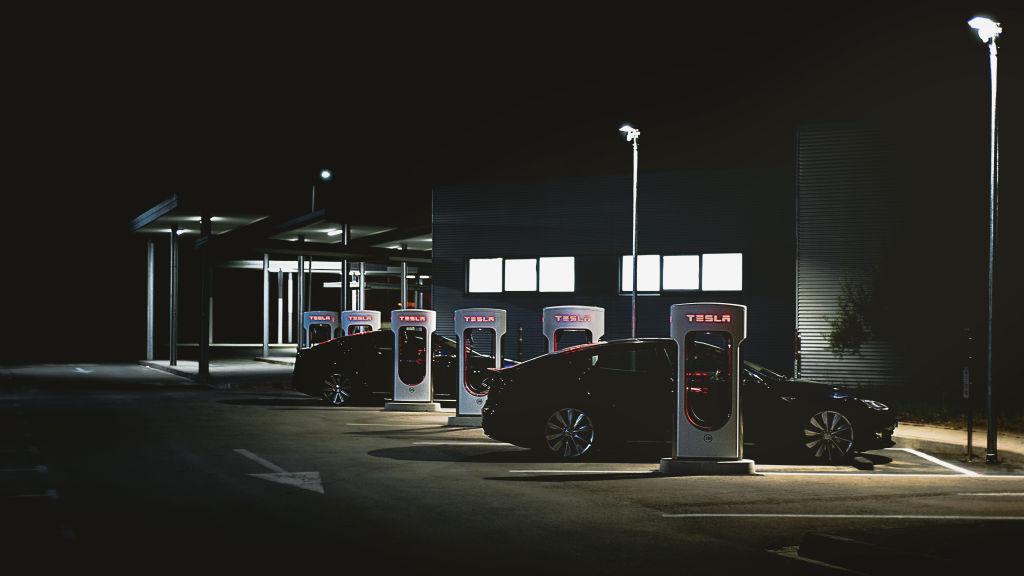 Tesla Superstation Charger