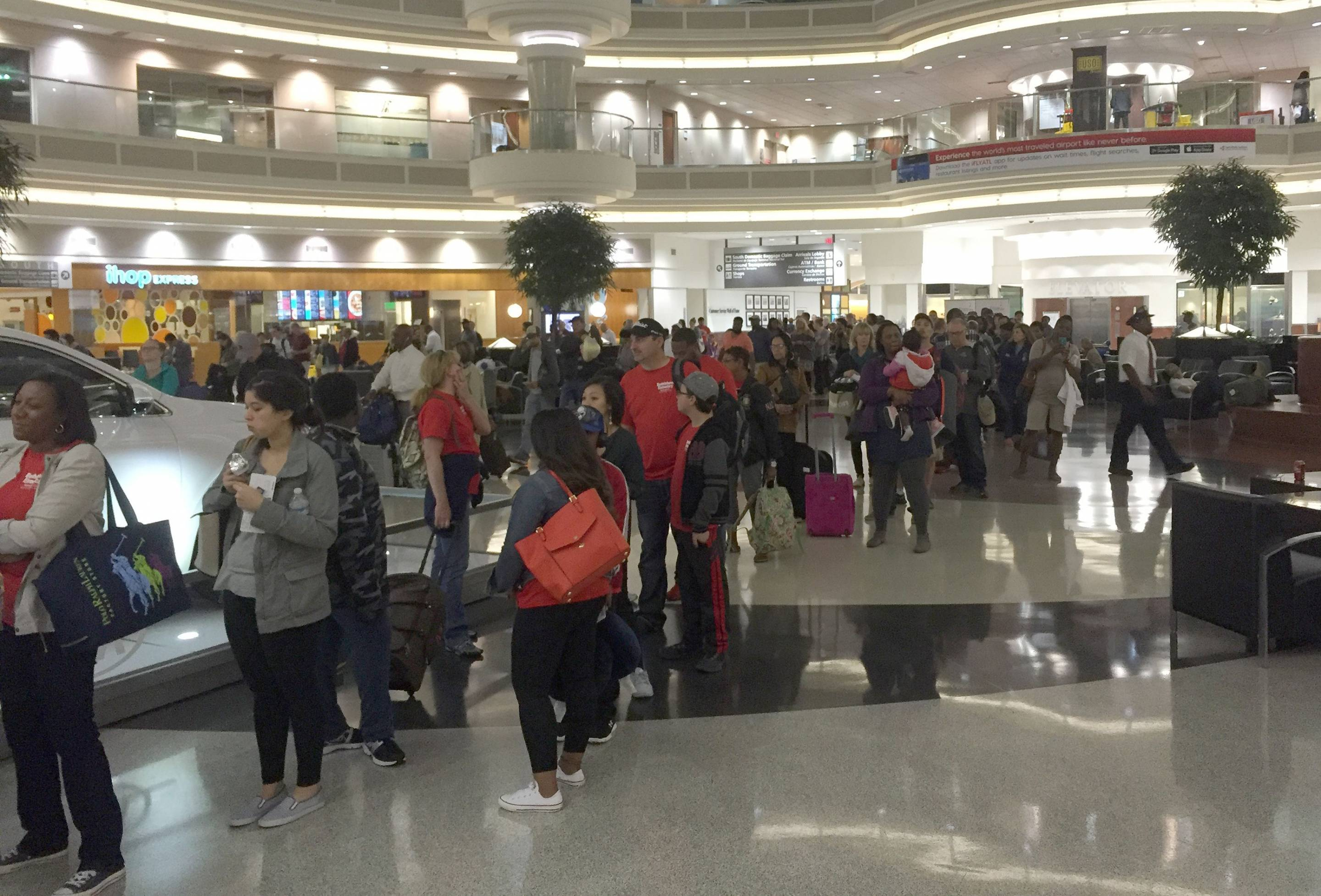 Government Shutdown Creating a Travel Nightmare At Atlanta's Airport