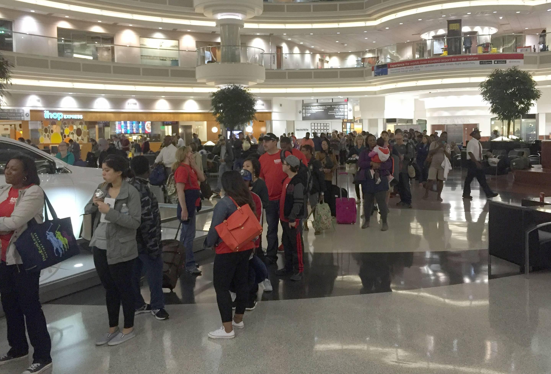 Government Shutdown Creating a Travel Nightmare At Atlanta's Airport