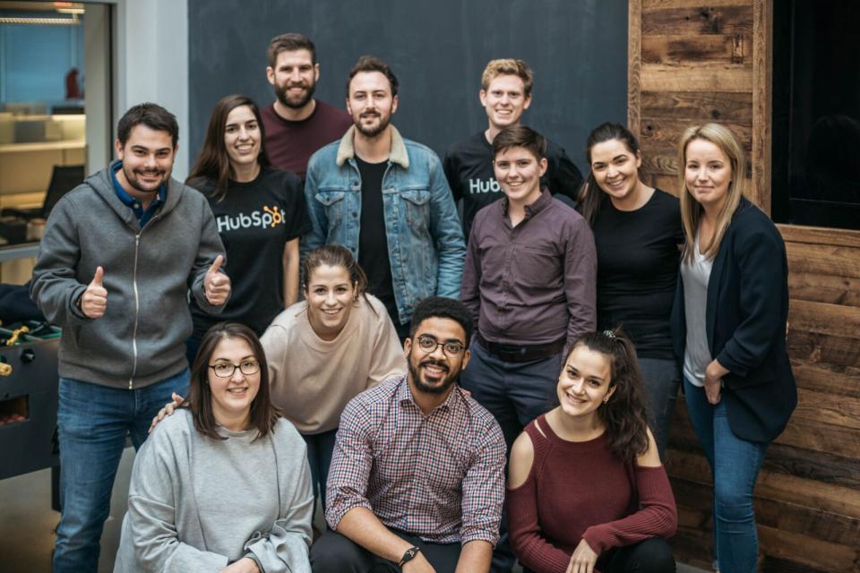 hubspot-best workplaces in tech 2019