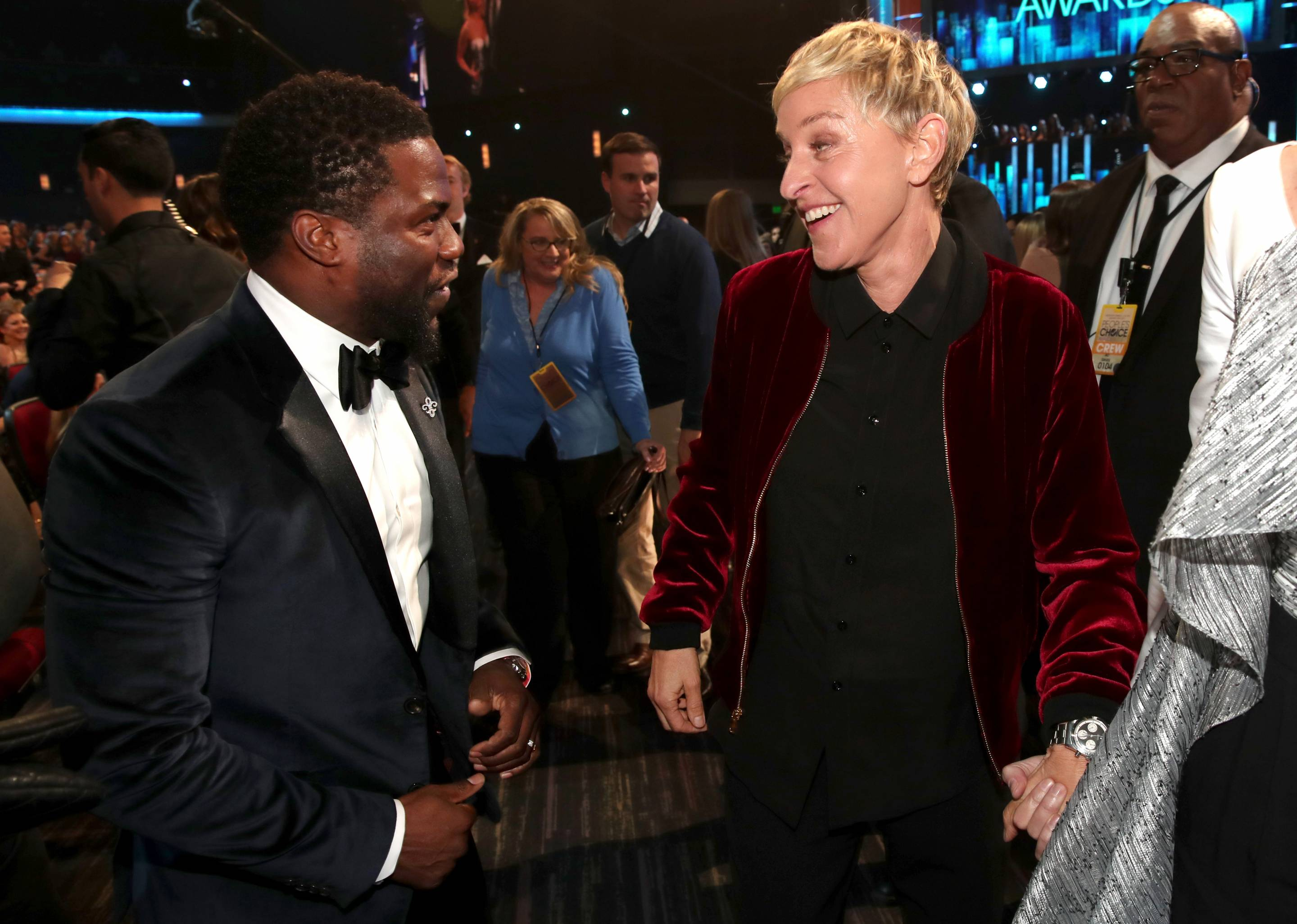 Ellen DeGeneres Forgives Kevin Hart, Wants Him To Host Oscars