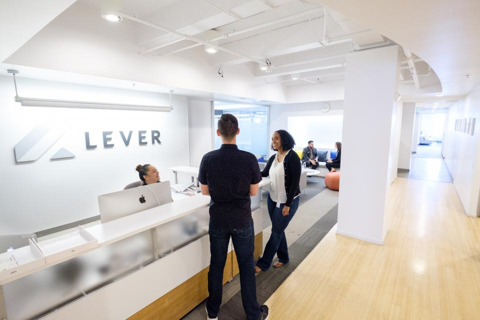 lever-best workplaces in tech 2019