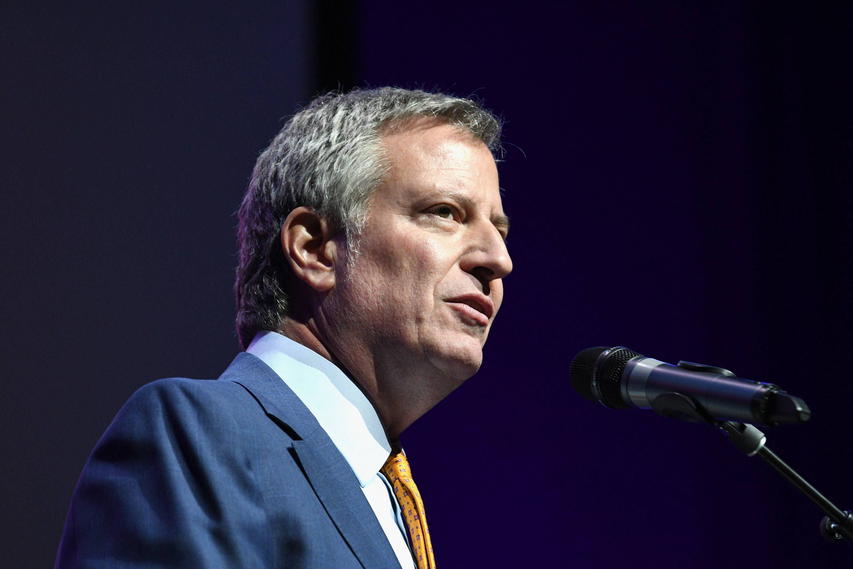 New York Mayor Bill de Blasio's Healthcare Plan Provides For Undocumented Citizens.