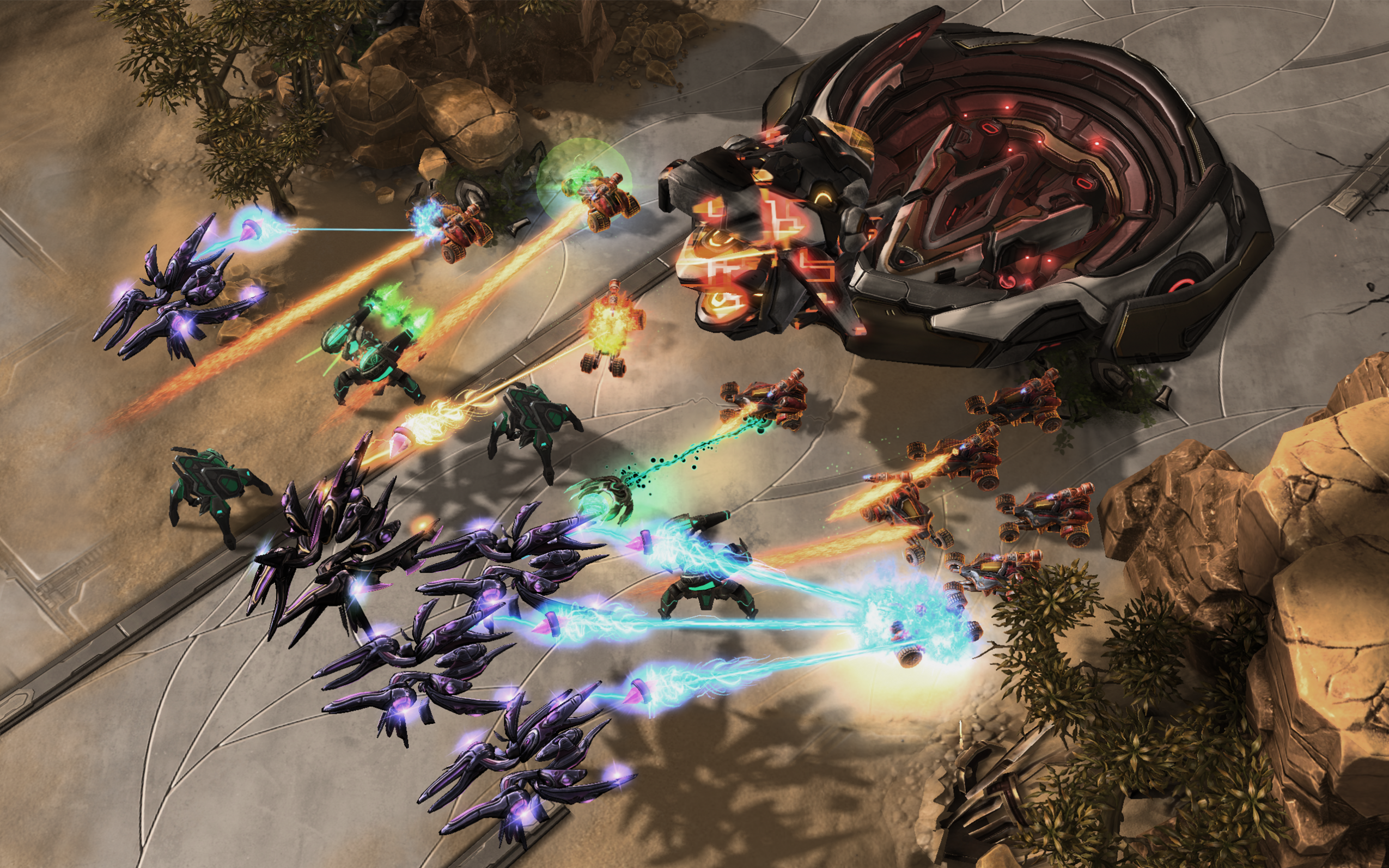 DeepMind, a company owned by Google, developed an AI program to battle professional players in the game StarCraft II.