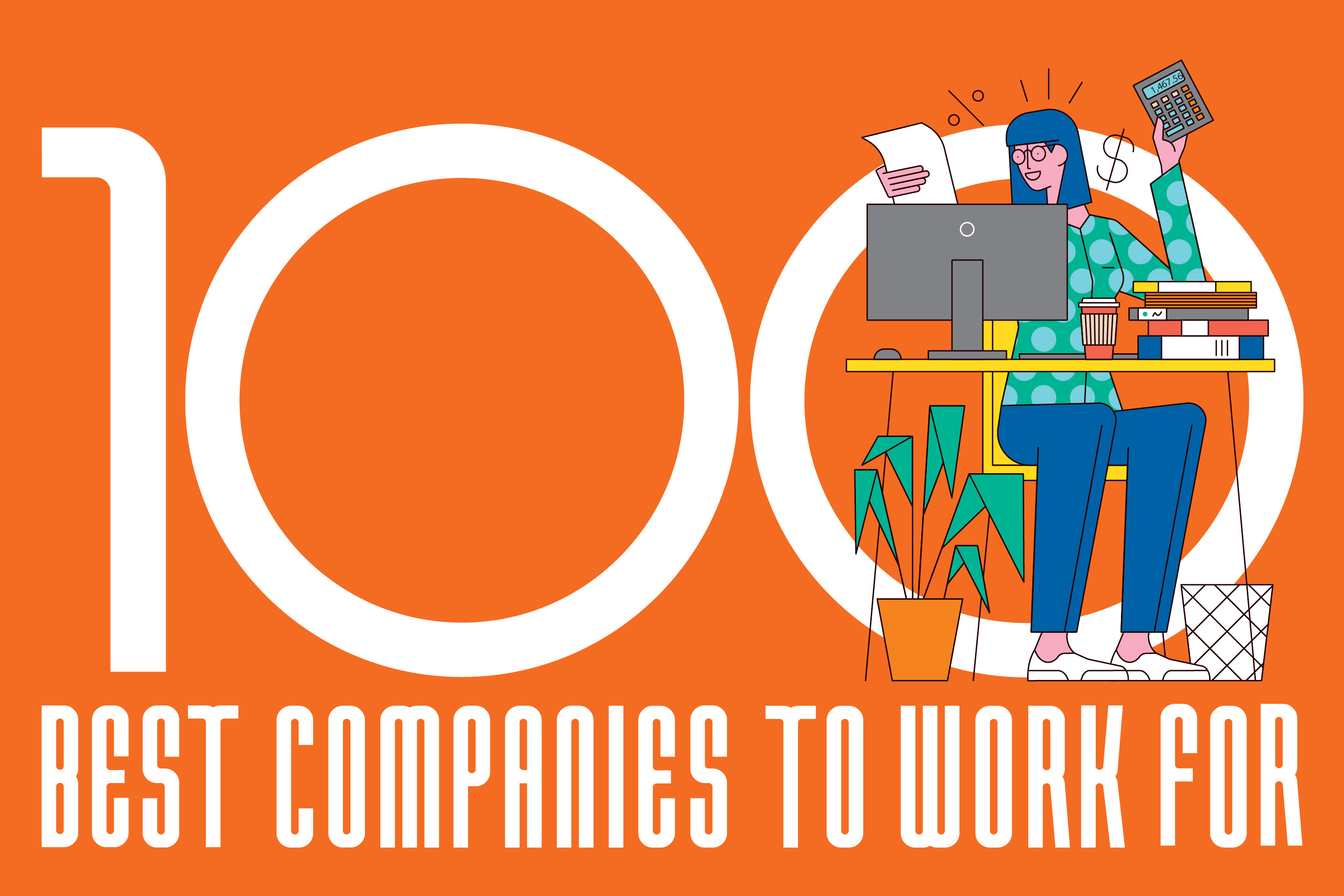 100 best companies to work for 2019 logo